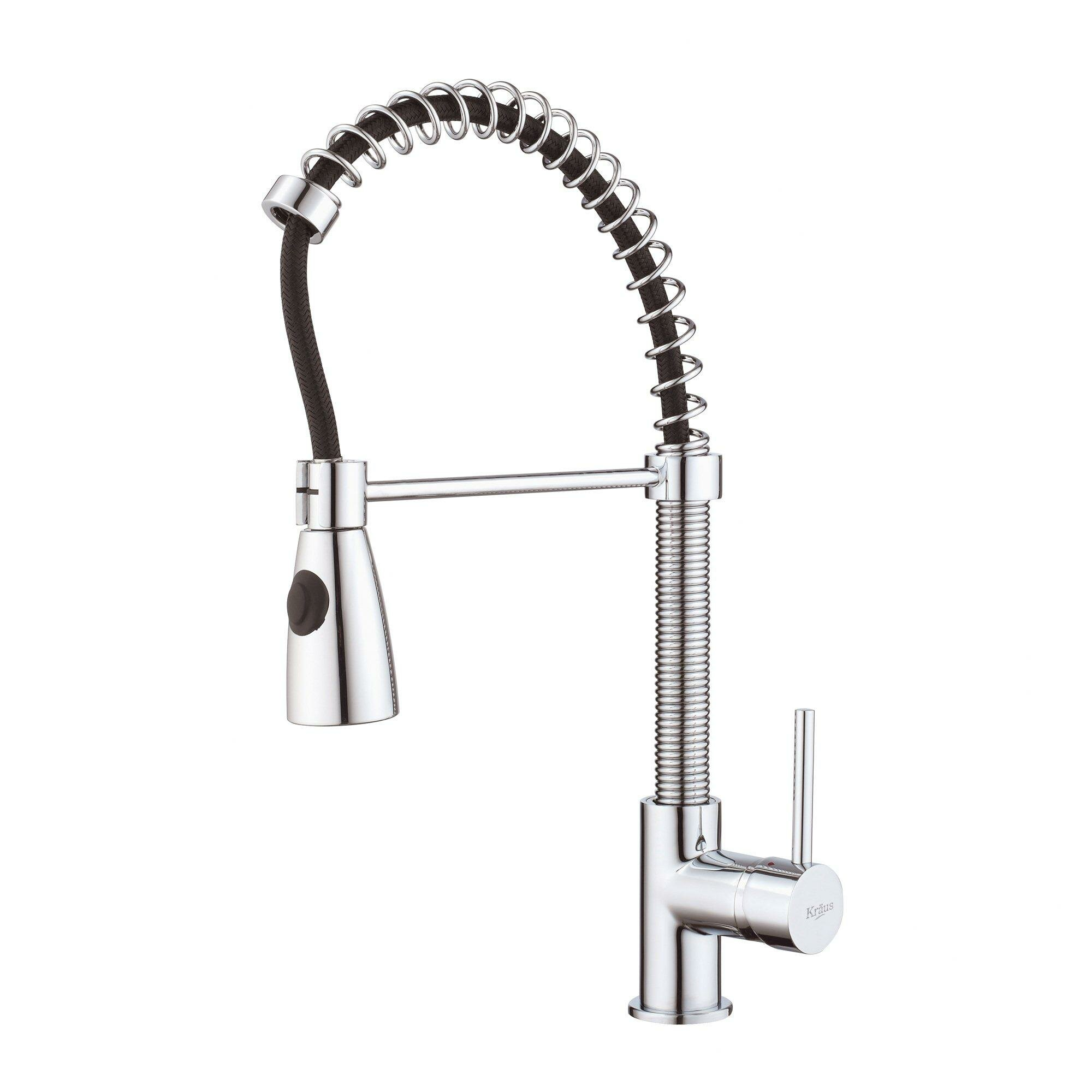 kraus kitchen faucets reviews kraus 32 quot x 19 quot undermount kitchen sink with faucet and soap dispenser reviews wayfair 8247