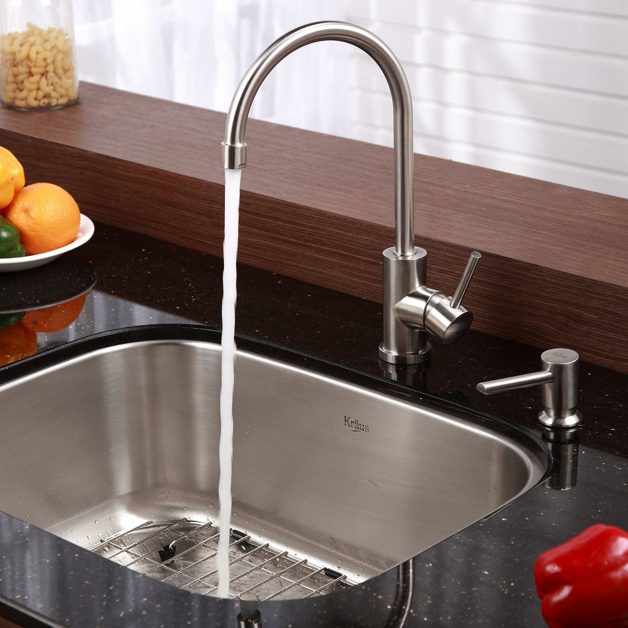Kraus Single Bowl Undermount Kitchen Sink