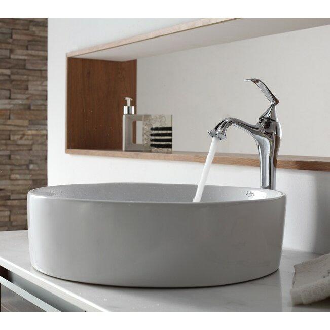 Kraus Bathroom Combos Bathroom Sink With Single Handle Single Hole Ventus Fau
