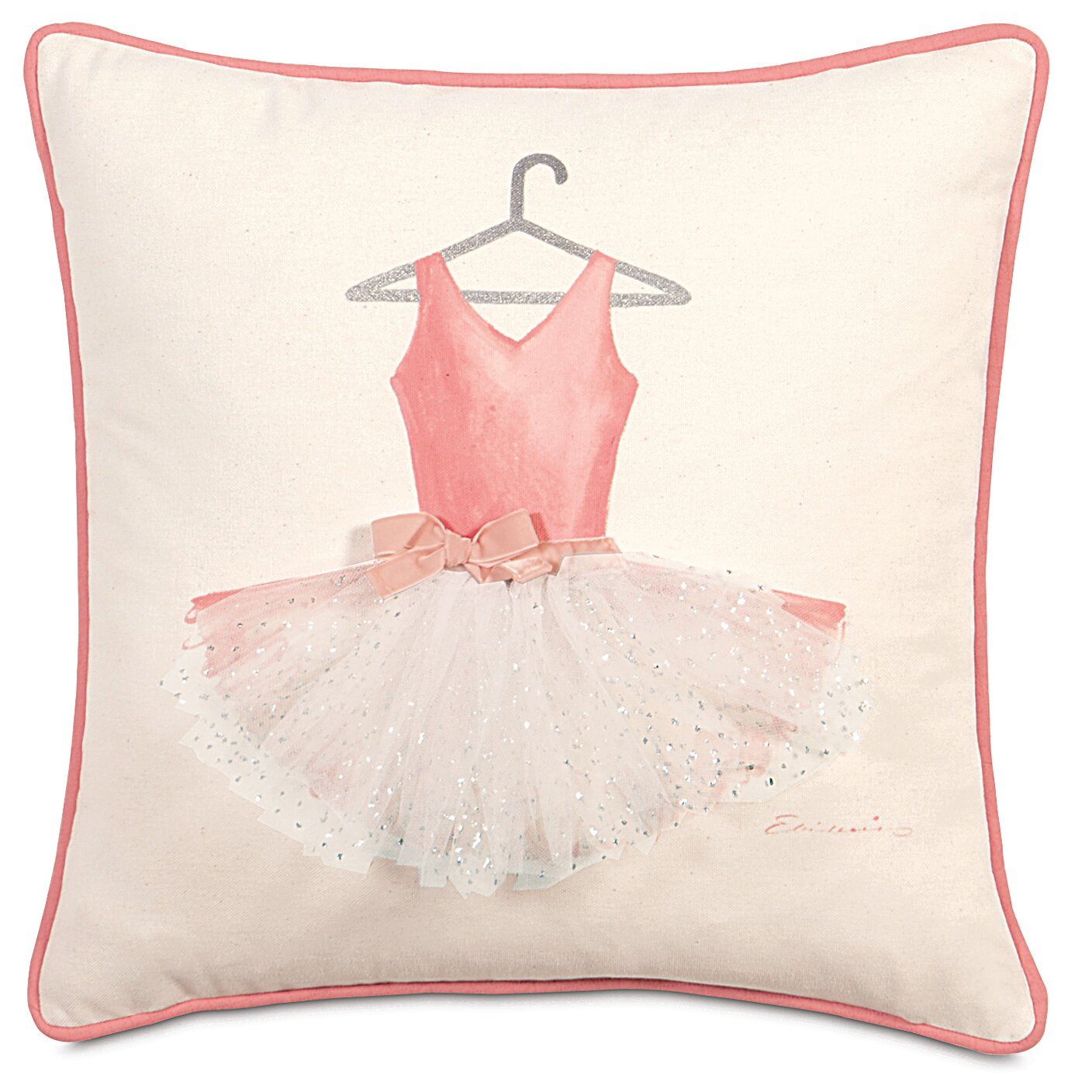 Decorative Pillow Wayfair : Eastern Accents Matilda Ballerina Attire Throw Pillow Wayfair