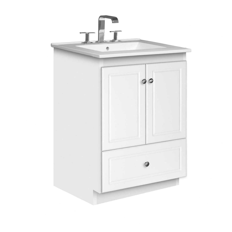"""Strasser Woodenworks Simplicity 25"""" Single Bathroom Vanity"""