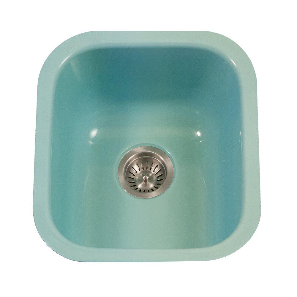 Porcelain Bar Sink : ... 17.32