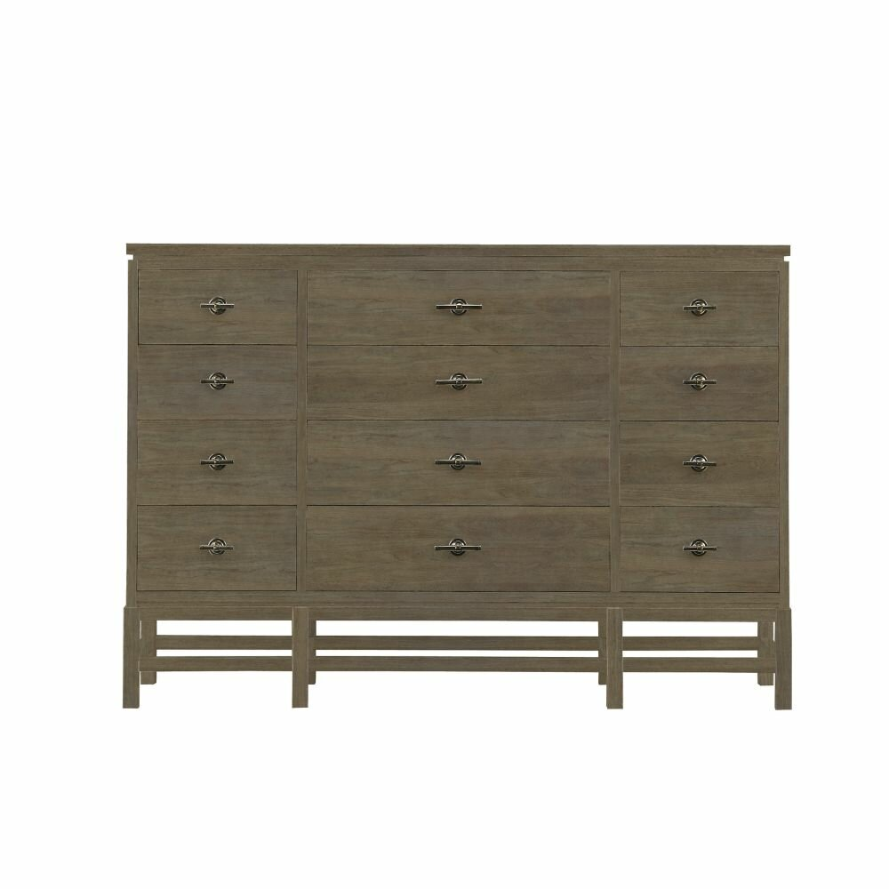 stanley furniture resort 12 drawer tranquility isle dresser wayfair