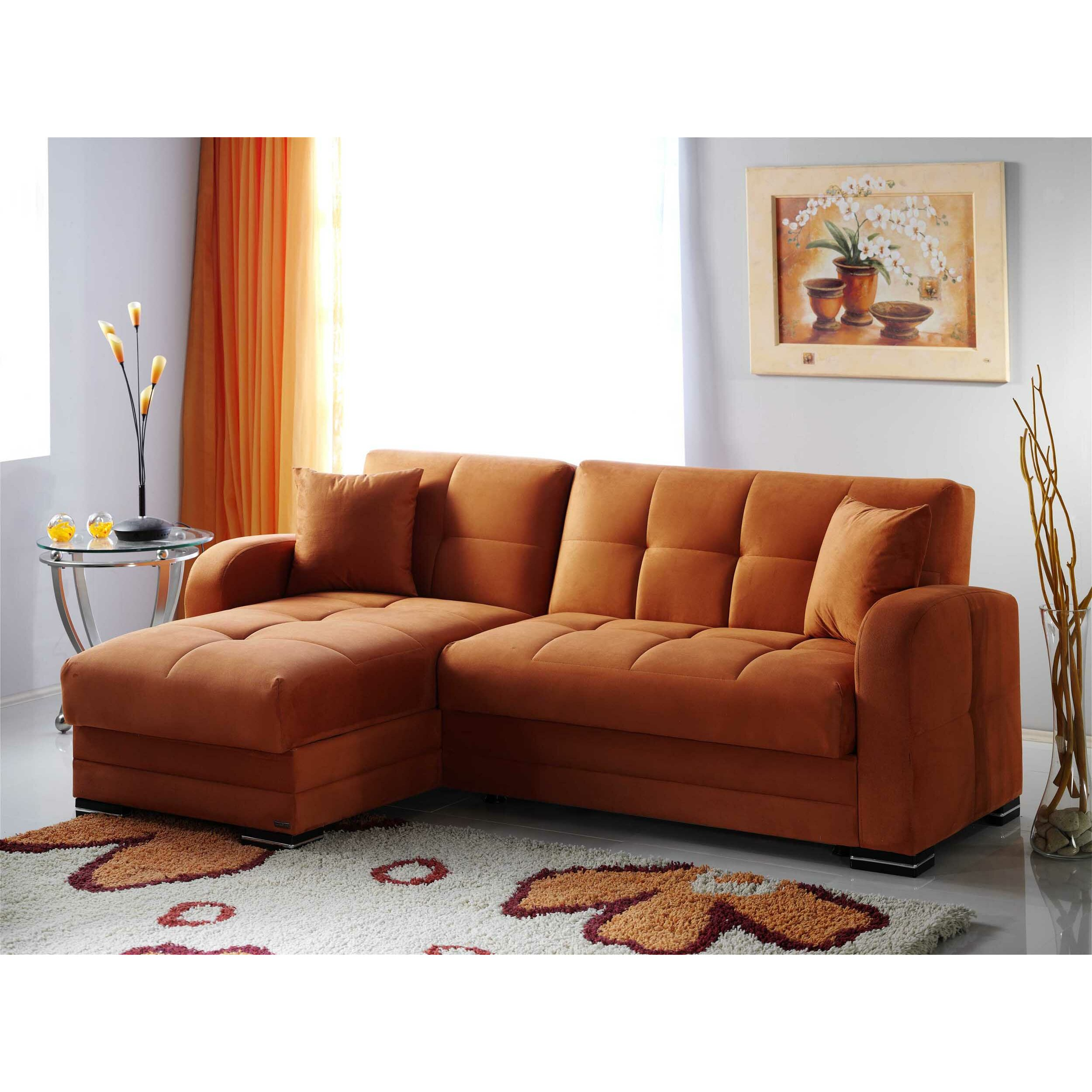 Istikbal Kubo Reversible Chaise Sectional Amp Reviews Wayfair