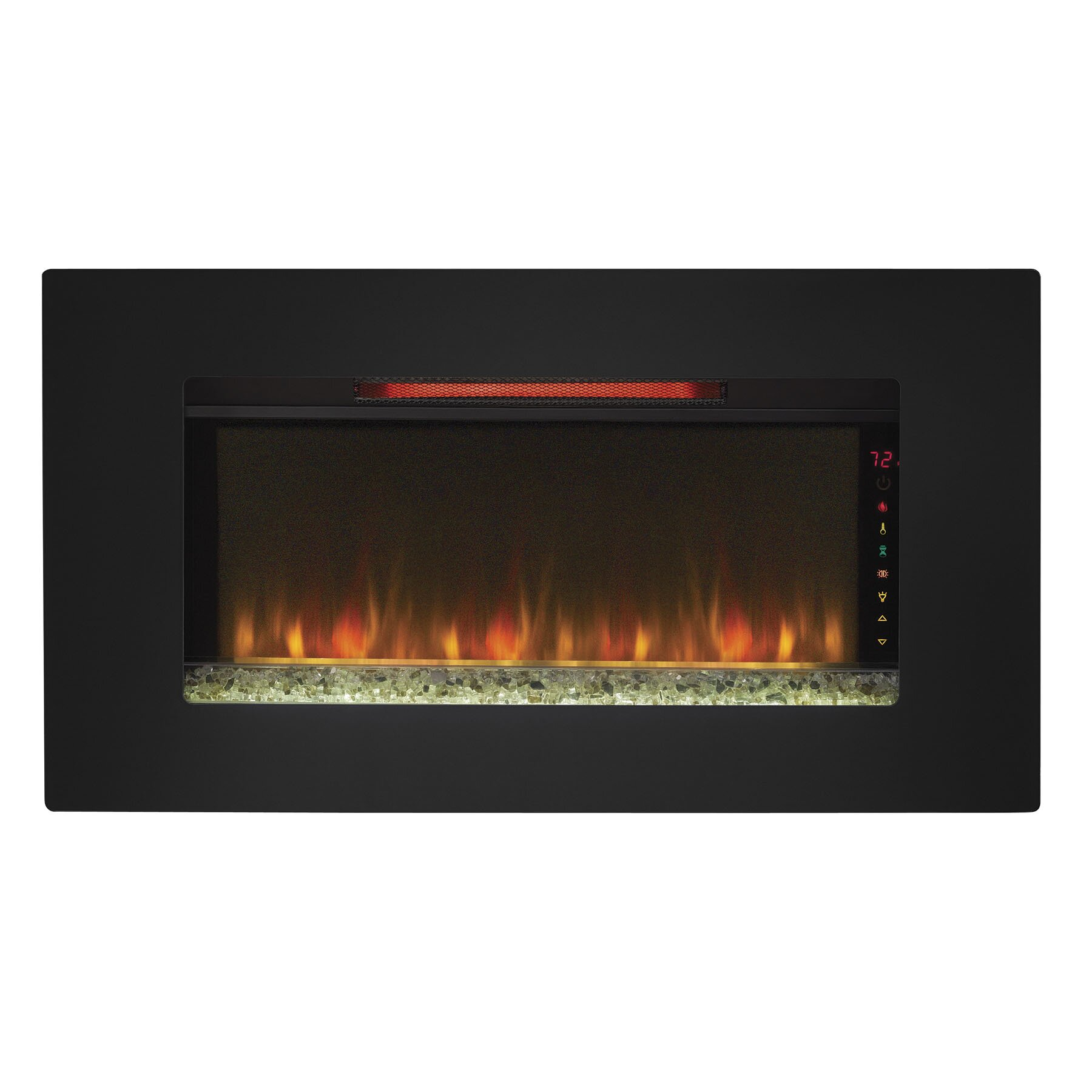 Classic Flame Elysium Wall Mount Electric Fireplace Reviews Wayfair