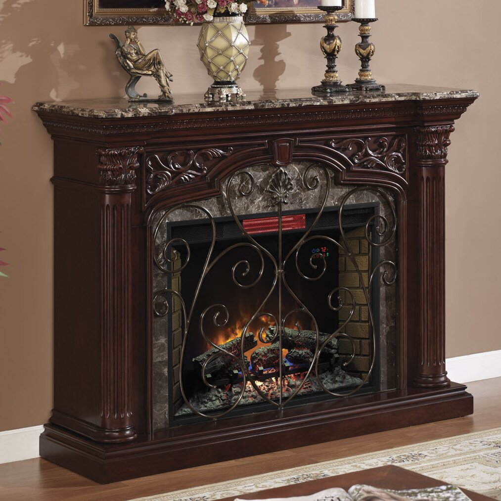 Classic Flame Astoria Electric Fireplace Mantel Surround Reviews Wayfair