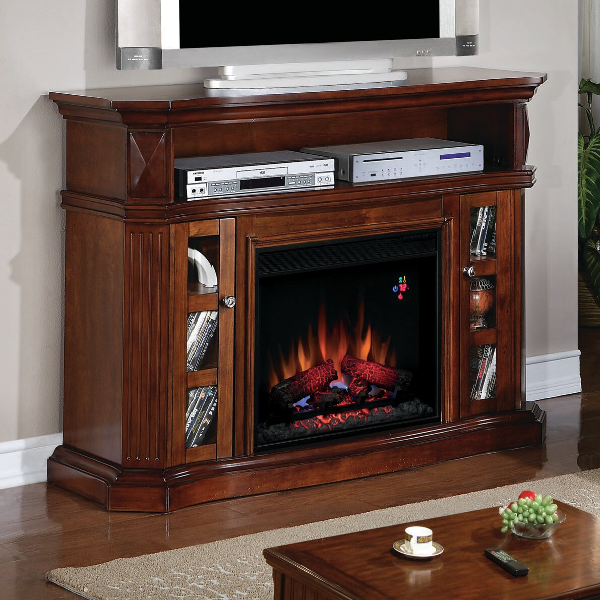 Classic Flame Bellemeade Tv Stand With Electric Fireplace Amp Reviews Wayfair Ca