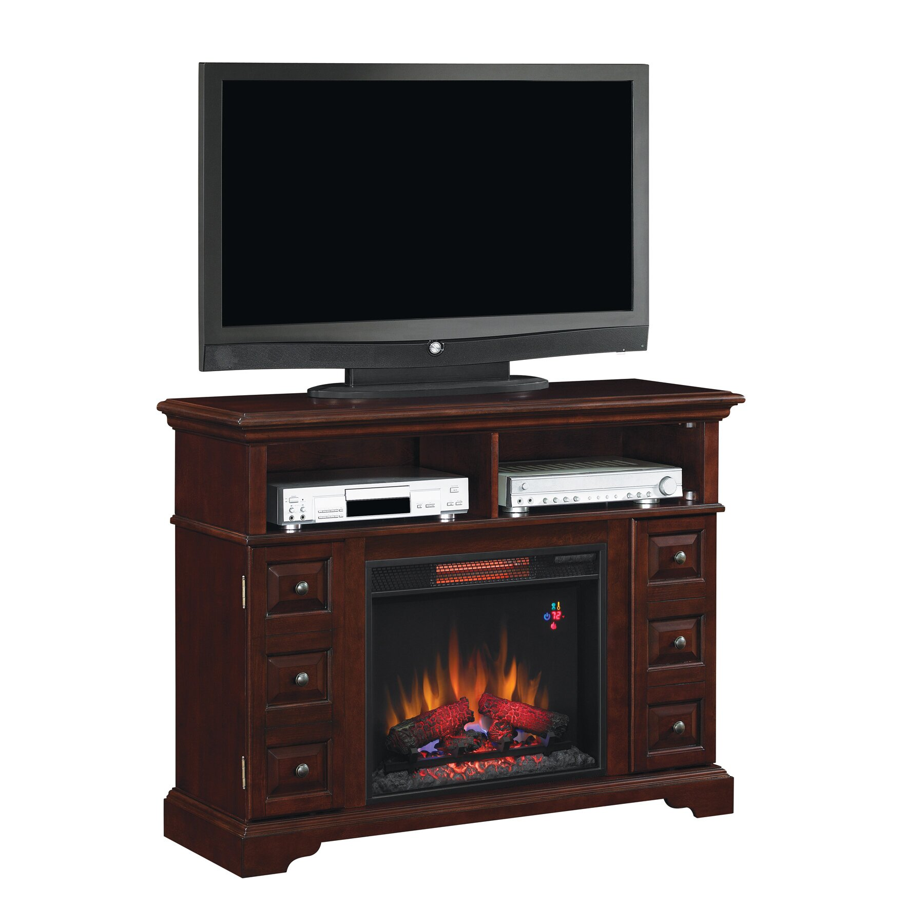 Classic Flame Media Electric Fireplace Reviews Wayfair
