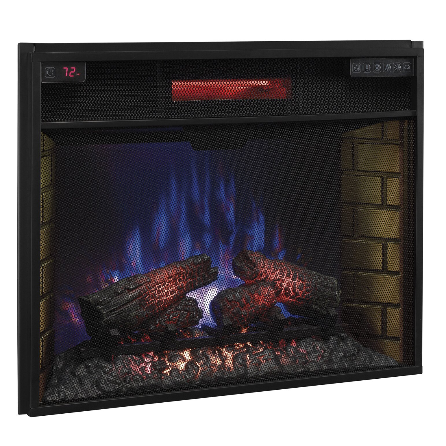 Classic Flame Infrared Electric Fireplace Insert Reviews Wayfair