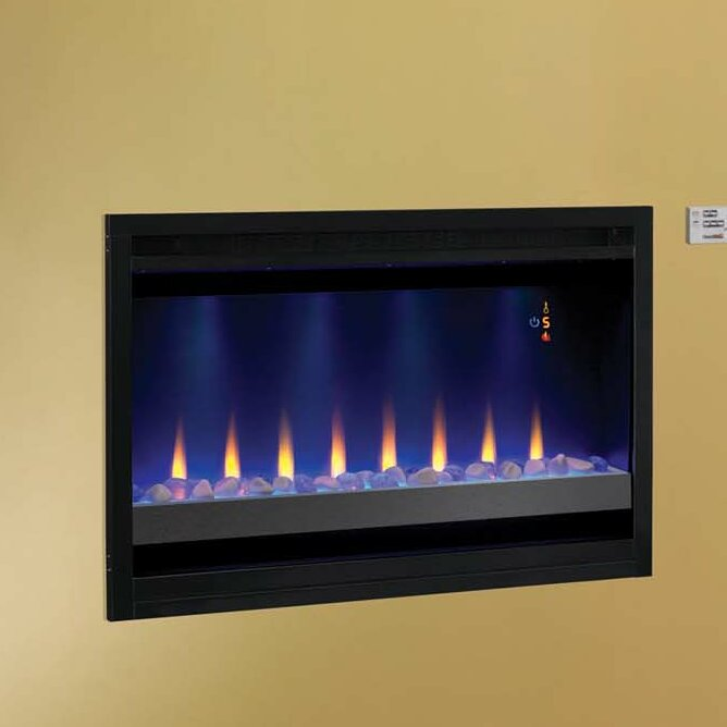 Classic Flame Builder Box Contemporary Wall Mount Electric Fireplace Insert Reviews Wayfair