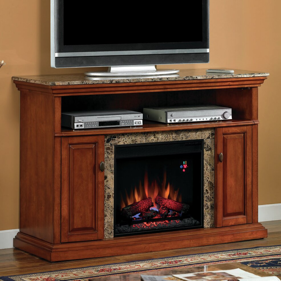 classic flame brighton tv stand with electric fireplace reviews. Black Bedroom Furniture Sets. Home Design Ideas