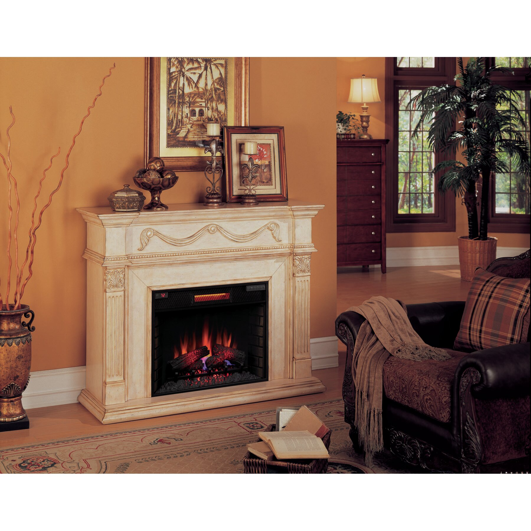 Classic Flame Gossamer Electric Fireplace Reviews Wayfair