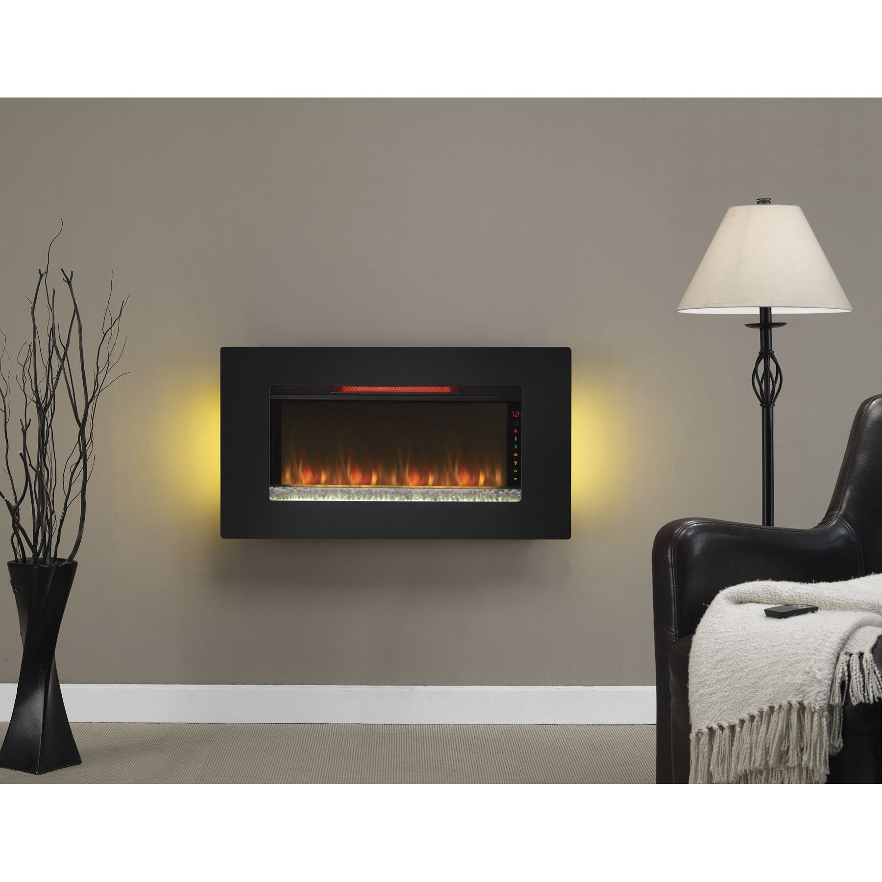 Blue Flame Gas Fireplace Fireplaces Blue Flame In Gas Fireplace ...