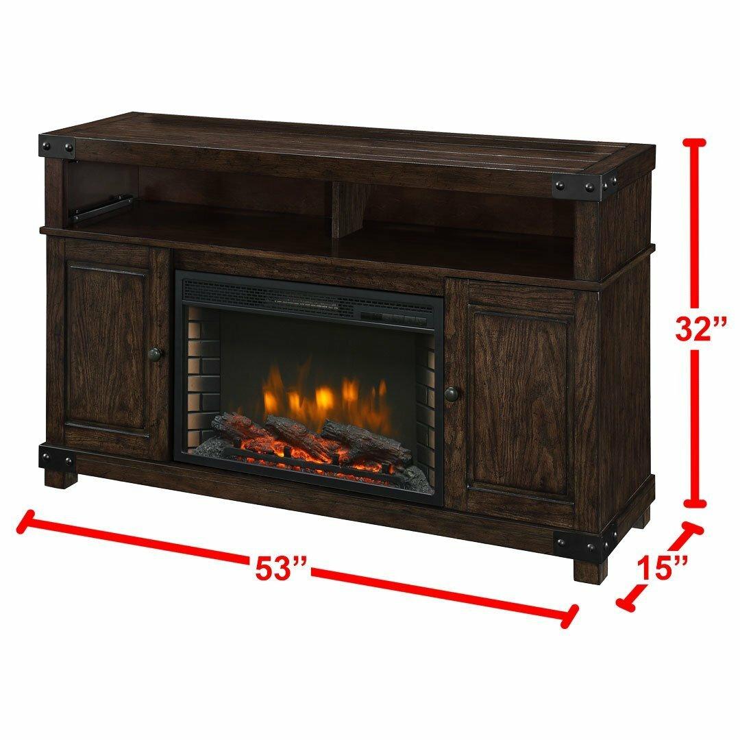 Muskoka Hudson Media Electric Fireplace Reviews Wayfair