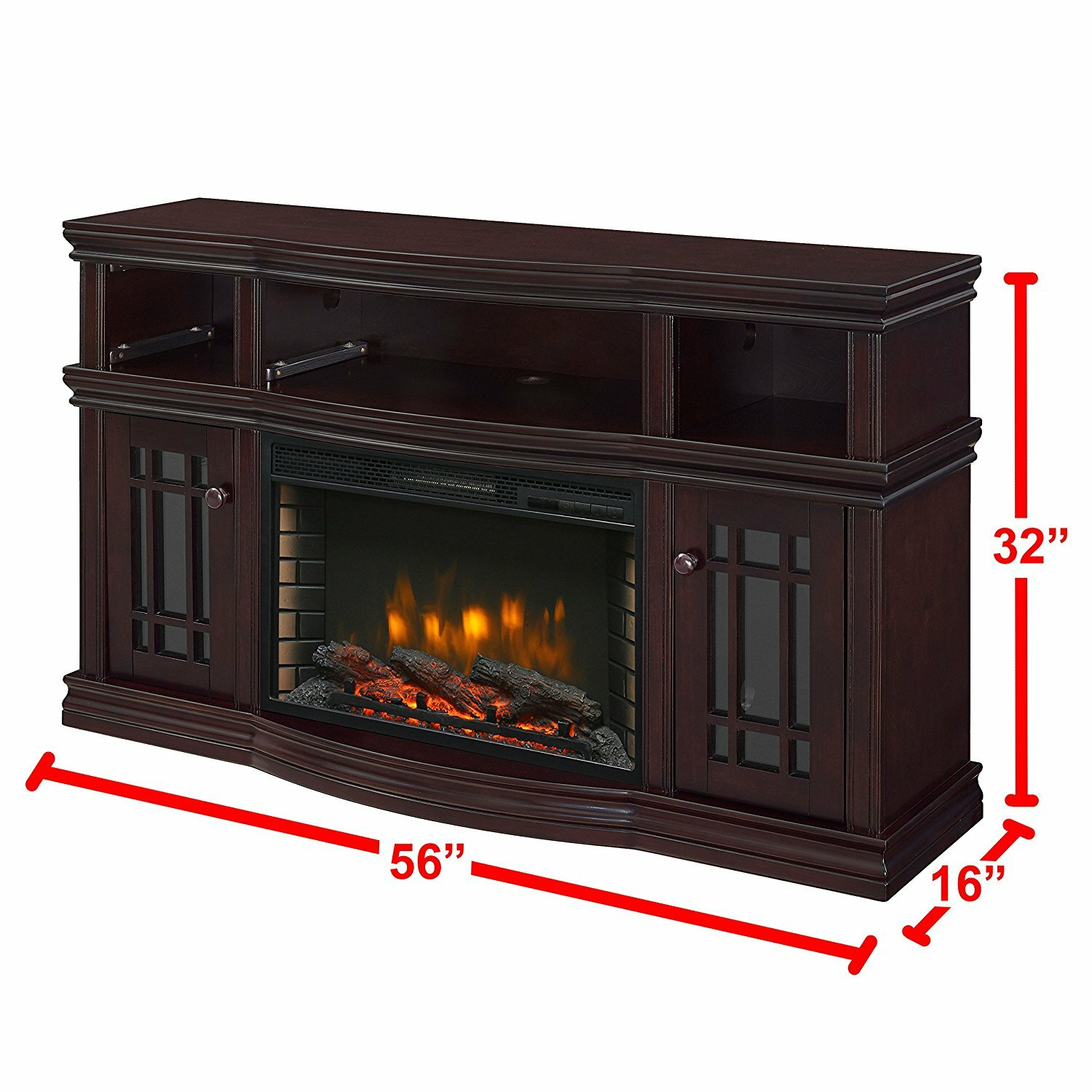 Muskoka Sutton Media Electric Fireplace Reviews Wayfair