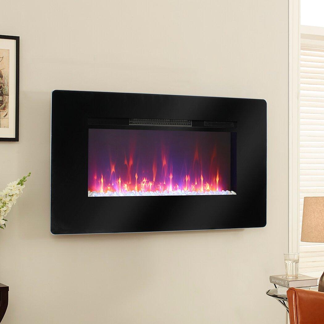 Muskoka Wall Mount Electric Fireplace