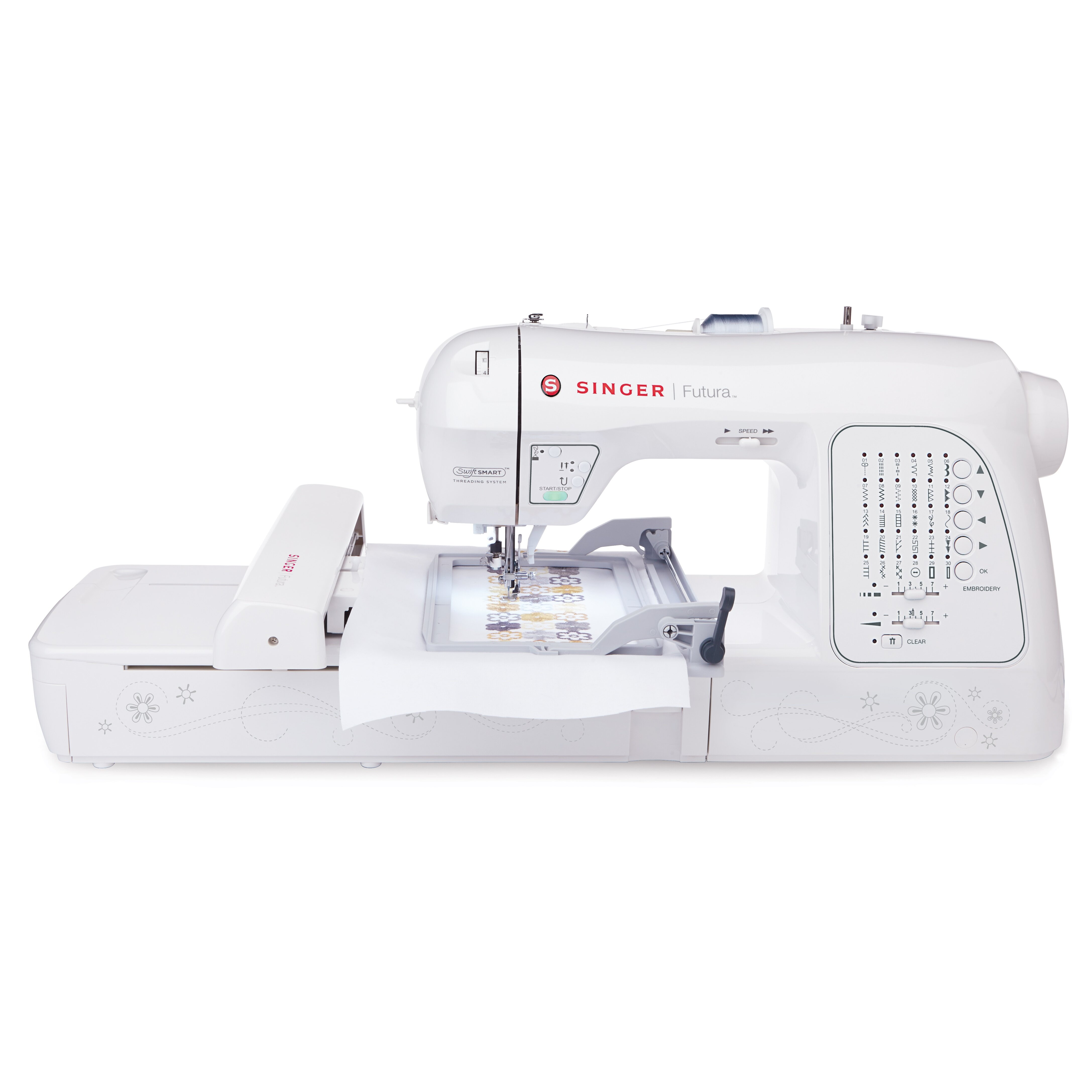 embroidery sewing machine singer