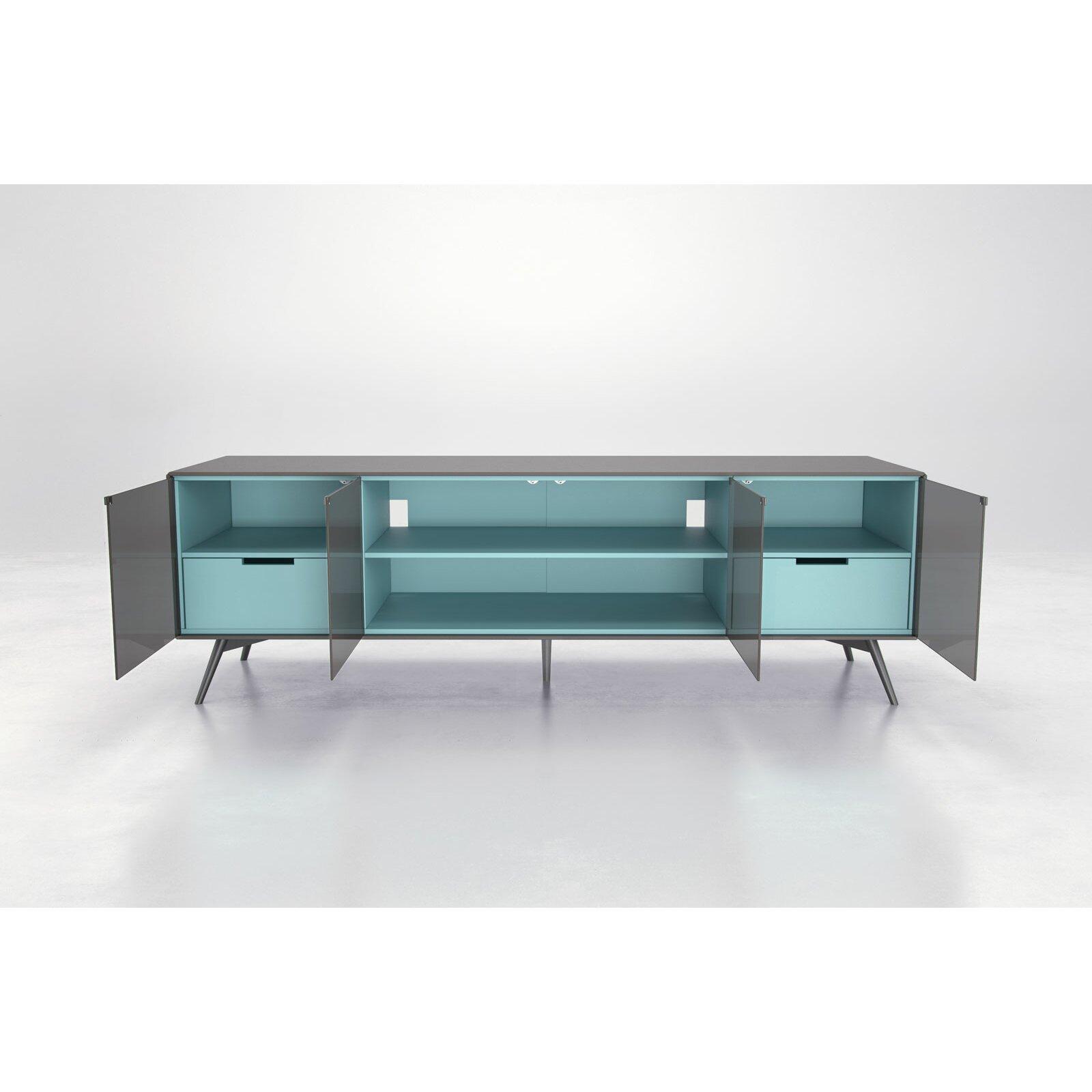 modloft christopher tv lowboards reviews wayfair. Black Bedroom Furniture Sets. Home Design Ideas
