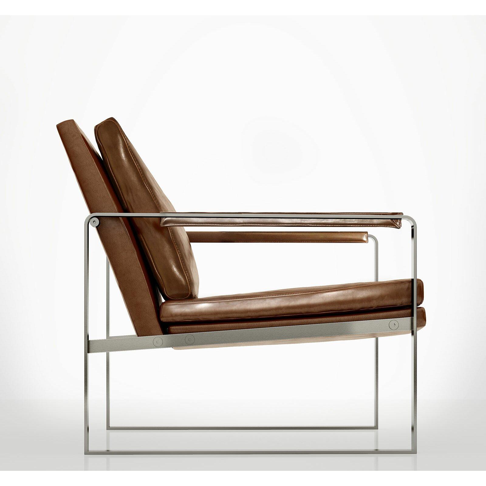 Modloft charles arm chair reviews wayfair for Modern lounge chair