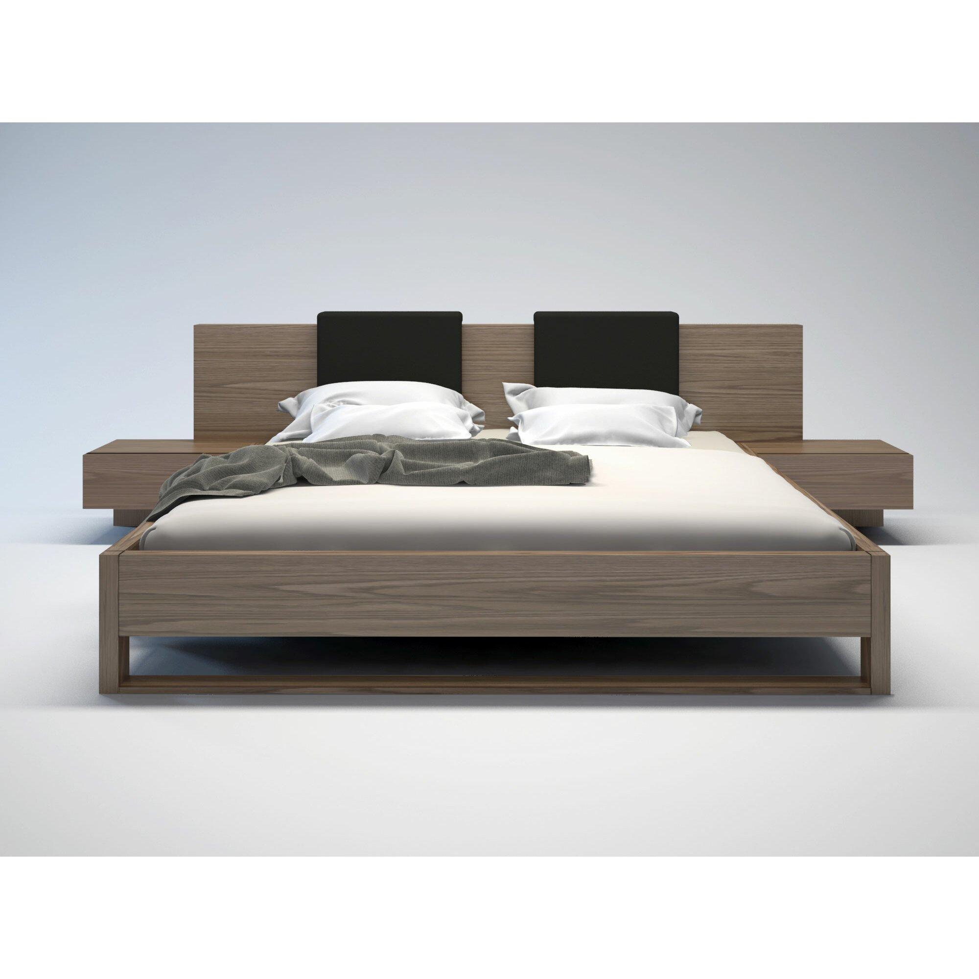 Modloft Monroe Upholstered Platform Bed Reviews Wayfair