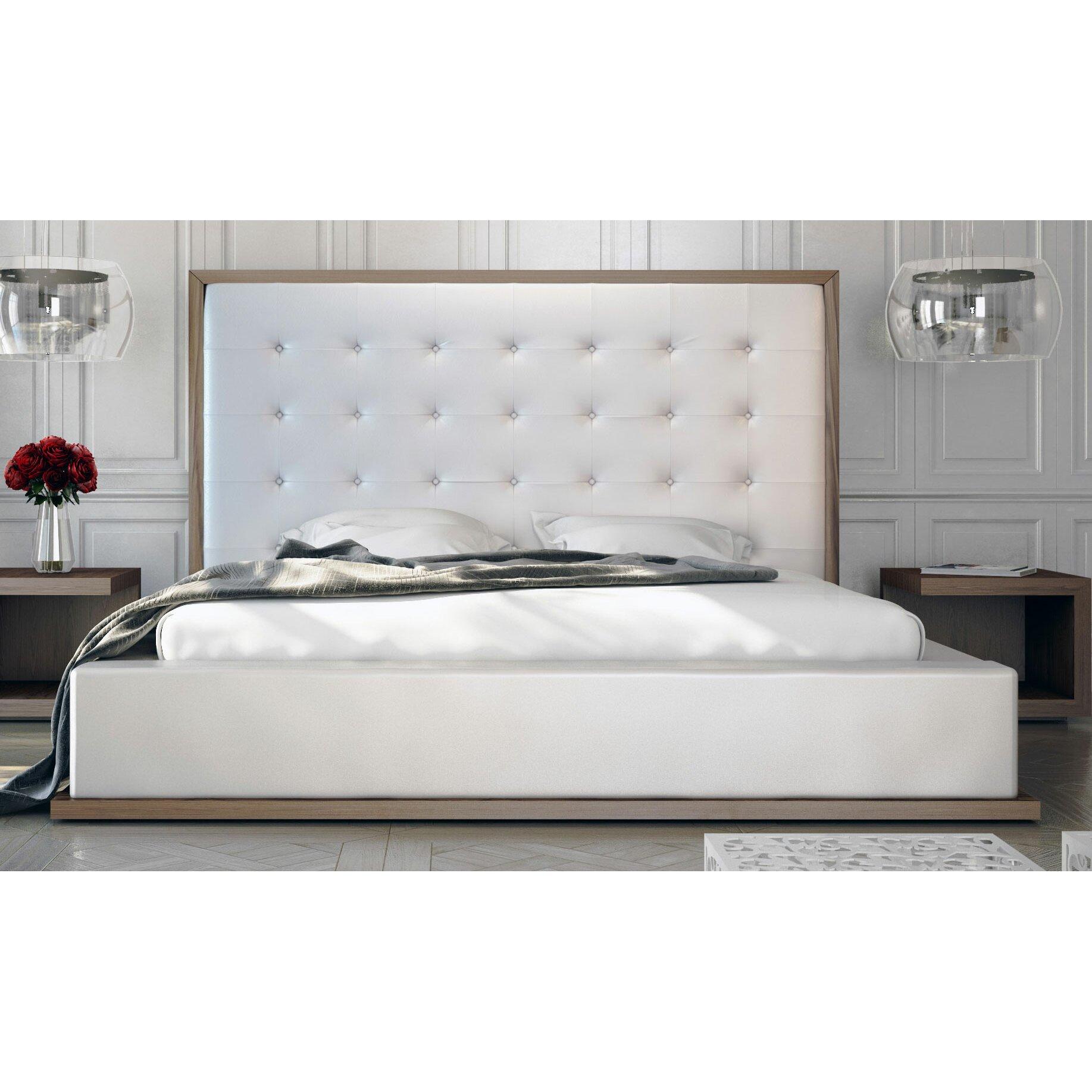 Modloft Ludlow Upholstered Platform Bed Reviews Wayfair