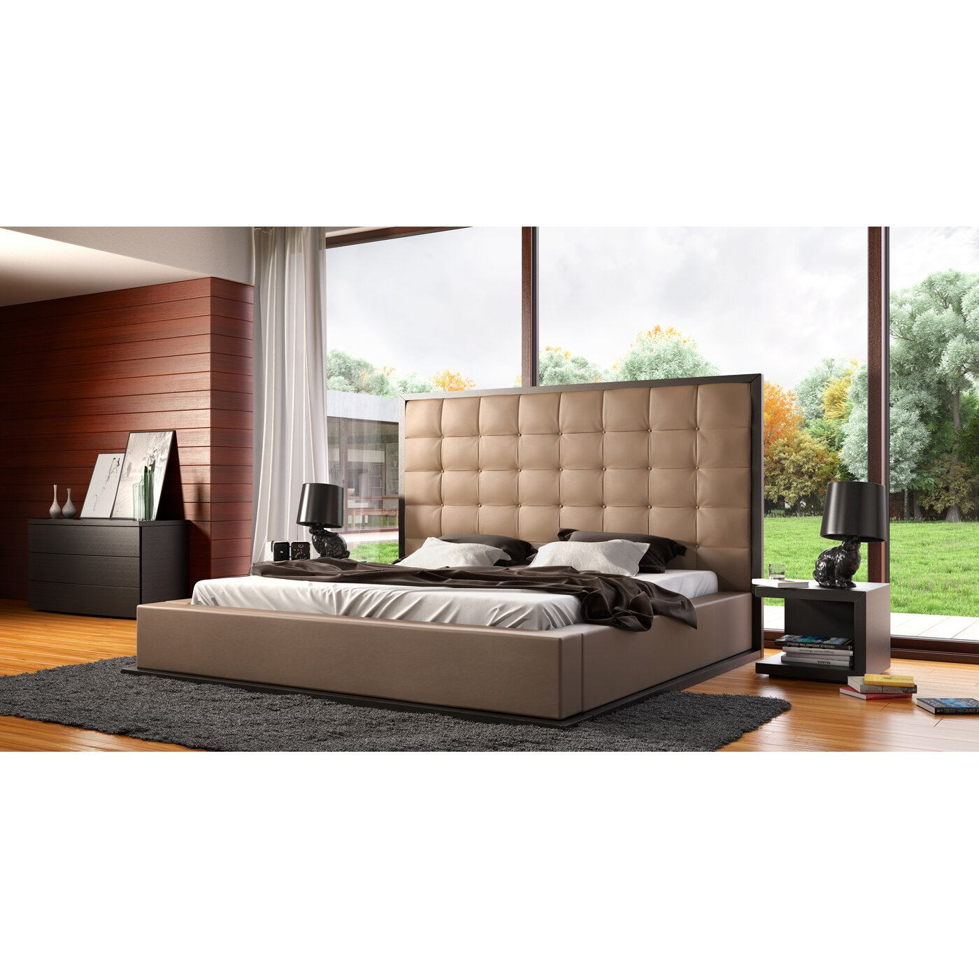 Modloft Ludlow Platform Customizable Bedroom Set Reviews Wayfair
