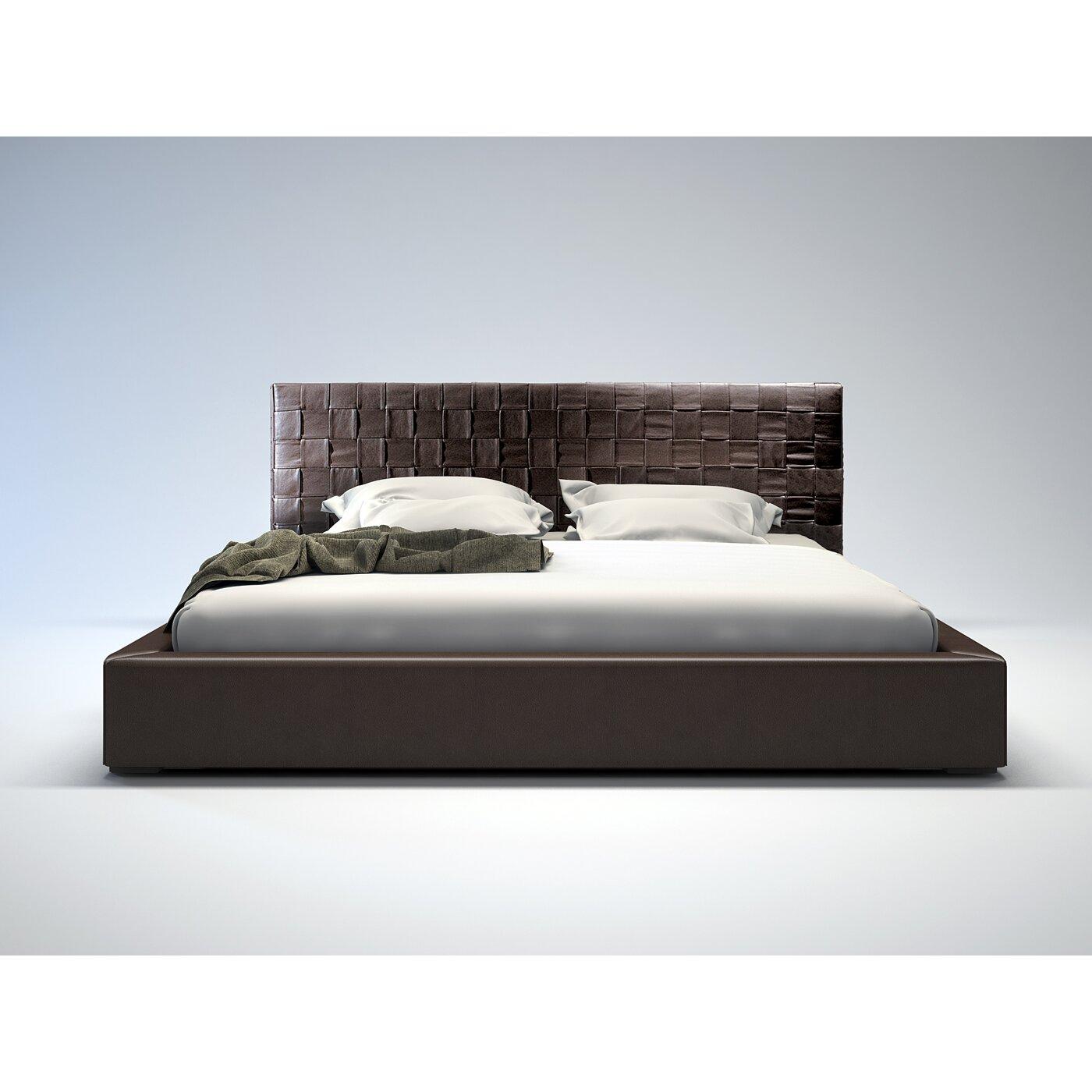Modloft Madison Upholstered Platform Bed Reviews Wayfair