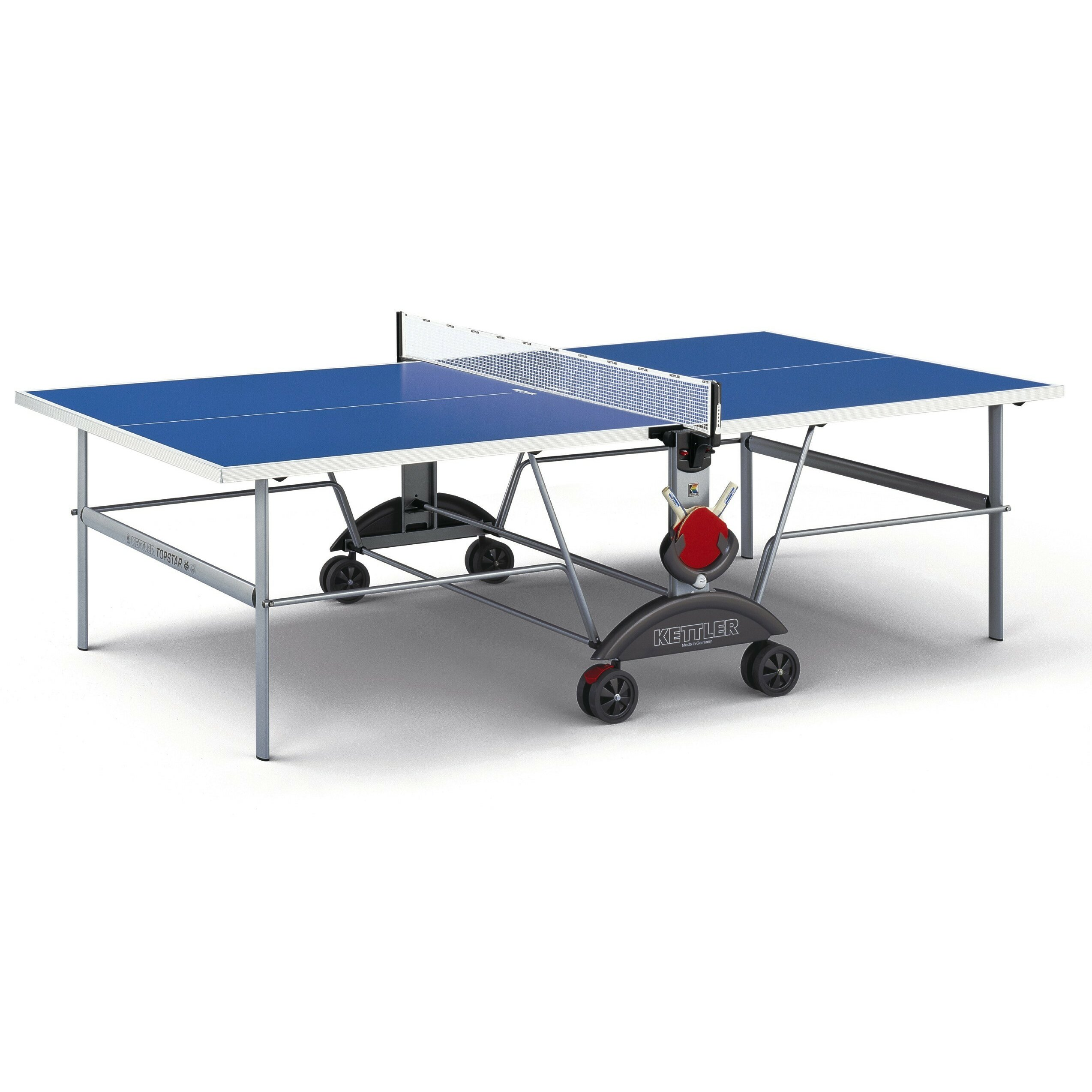 Kettler top star xl weatherproof table tennis table for Table kettler