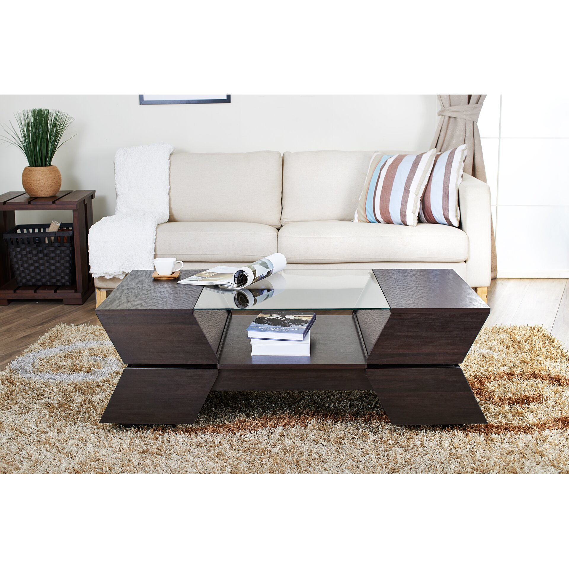 Hokku designs matias coffee table reviews wayfair for Hokku designs living room furniture