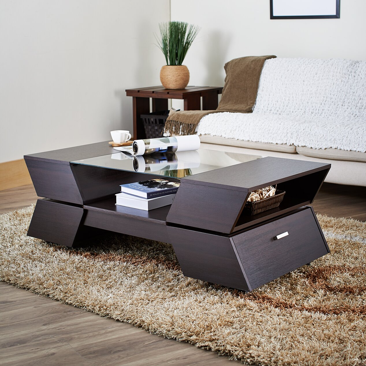 Hokku Coffee Table Sets: Hokku Designs Matias Coffee Table & Reviews