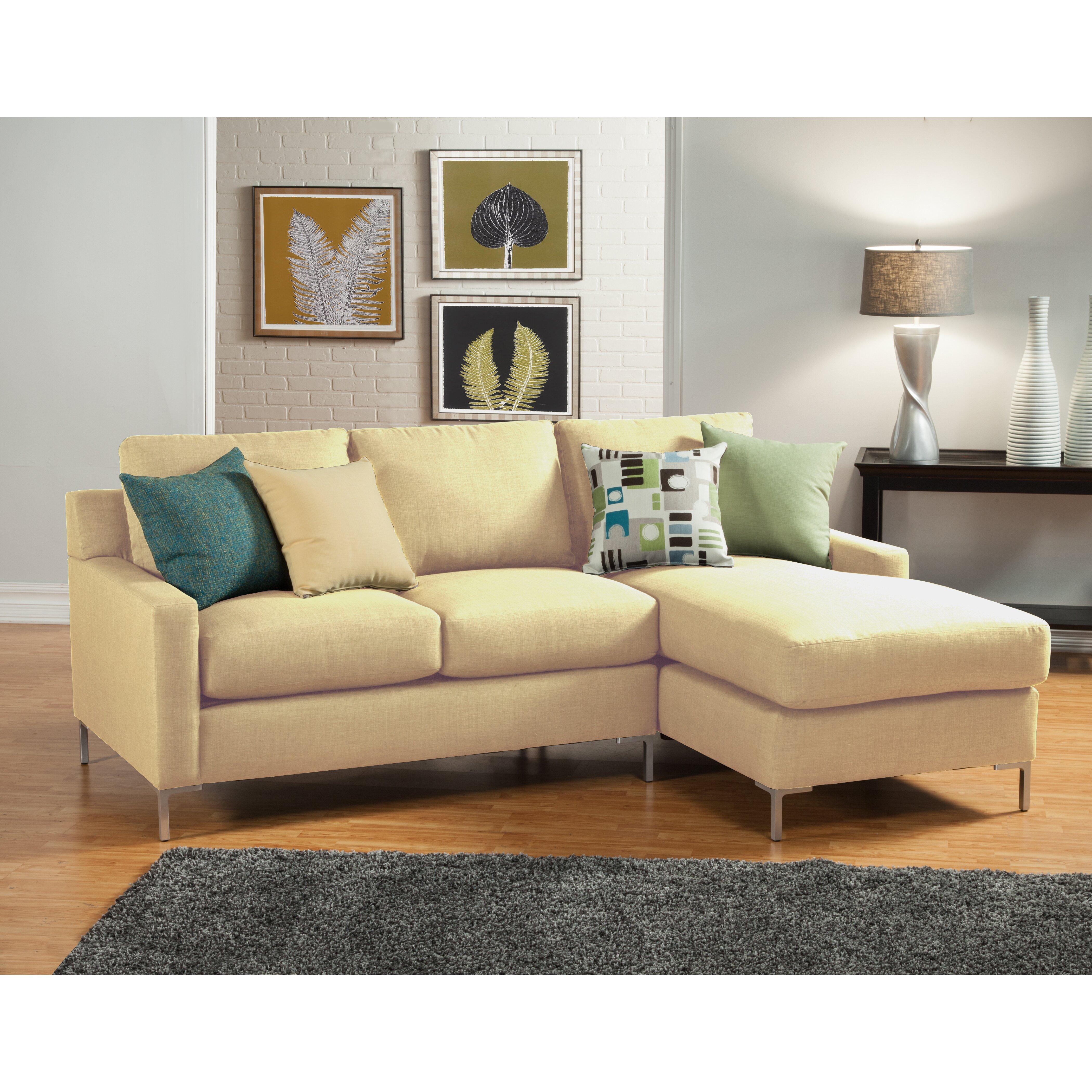 Hokku Designs Albany Sectional & Reviews | Wayfair