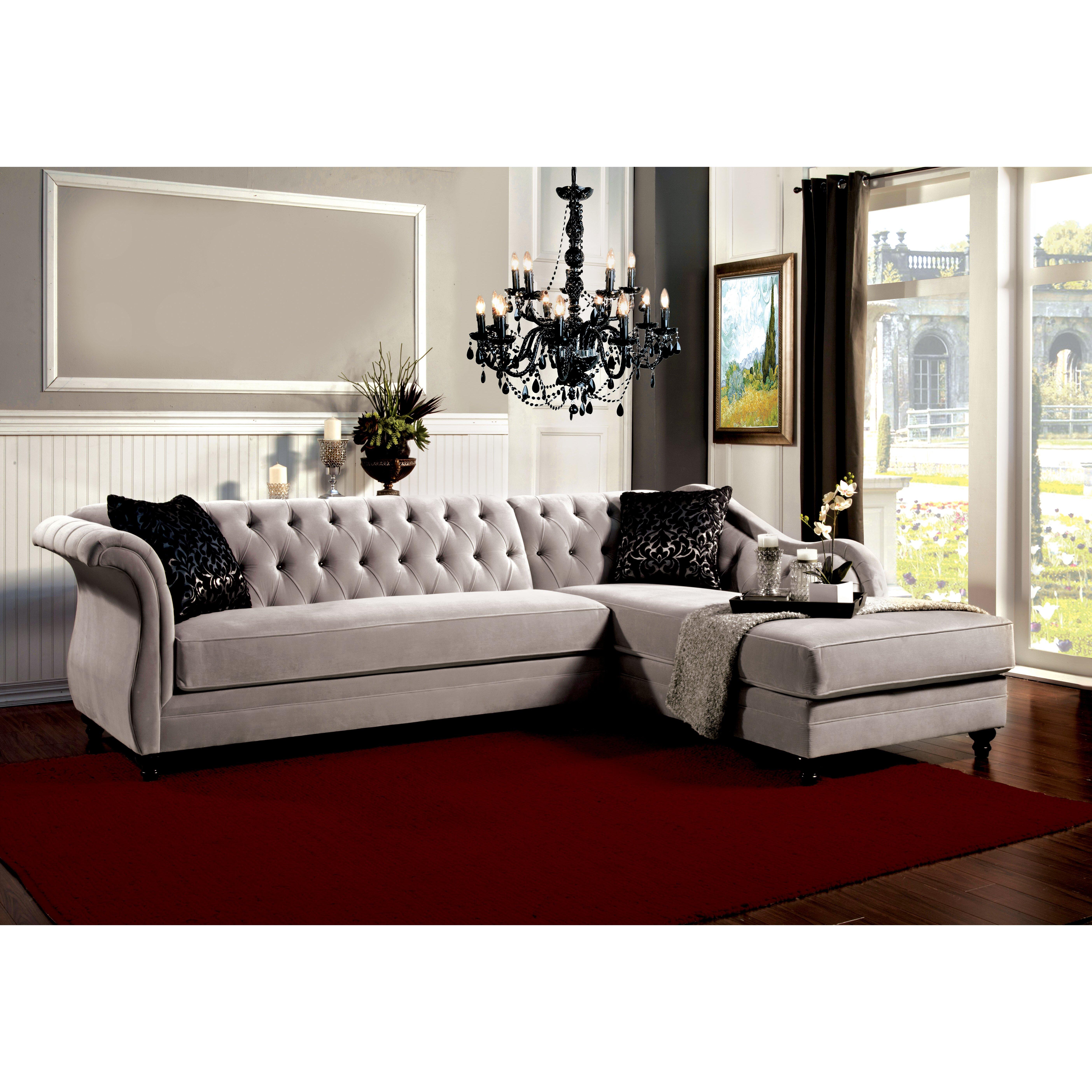 Hokku designs hartmann sectional reviews wayfair for Hokku designs living room furniture