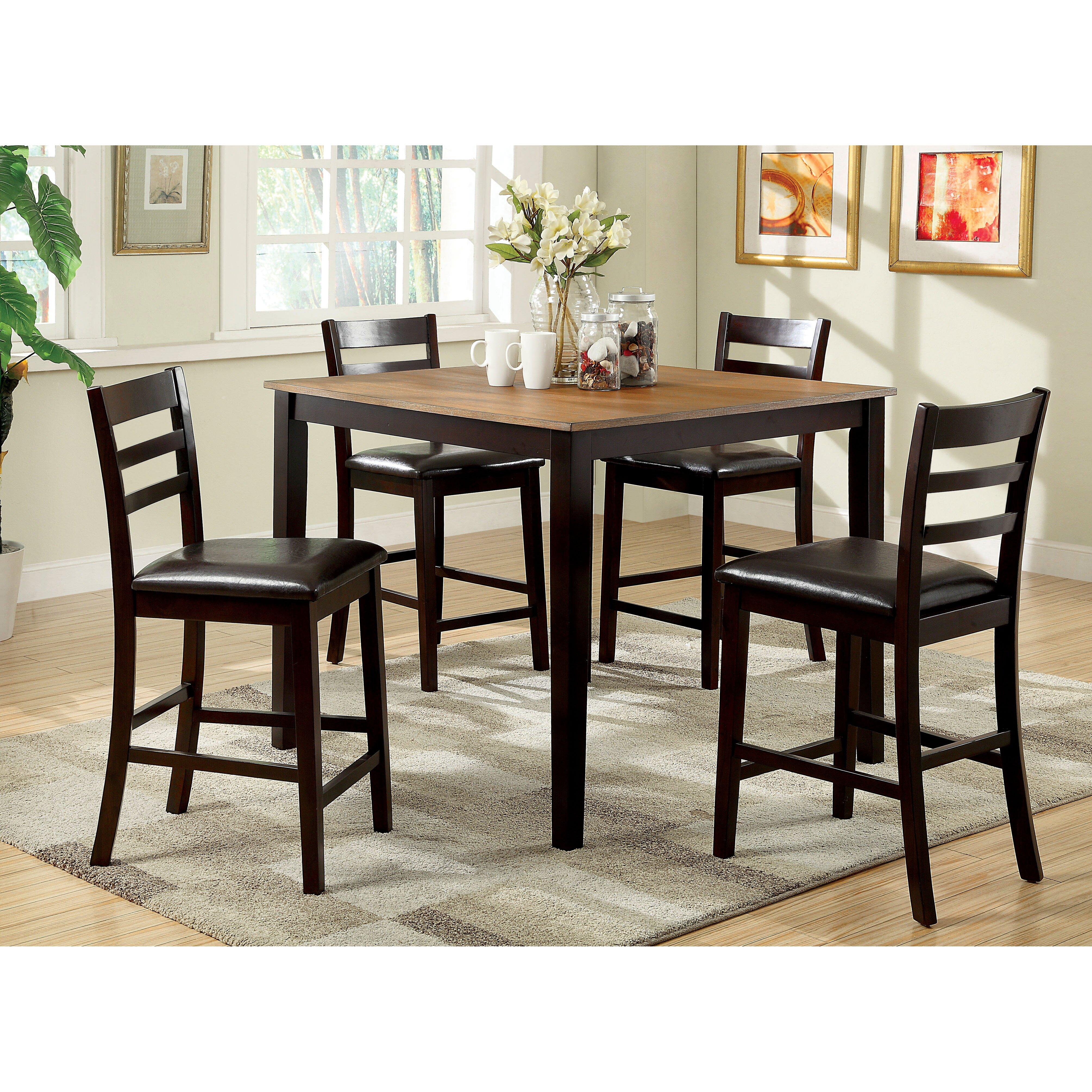Hokku designs barcelona 5 piece dining set reviews for Hokku designs dining room furniture