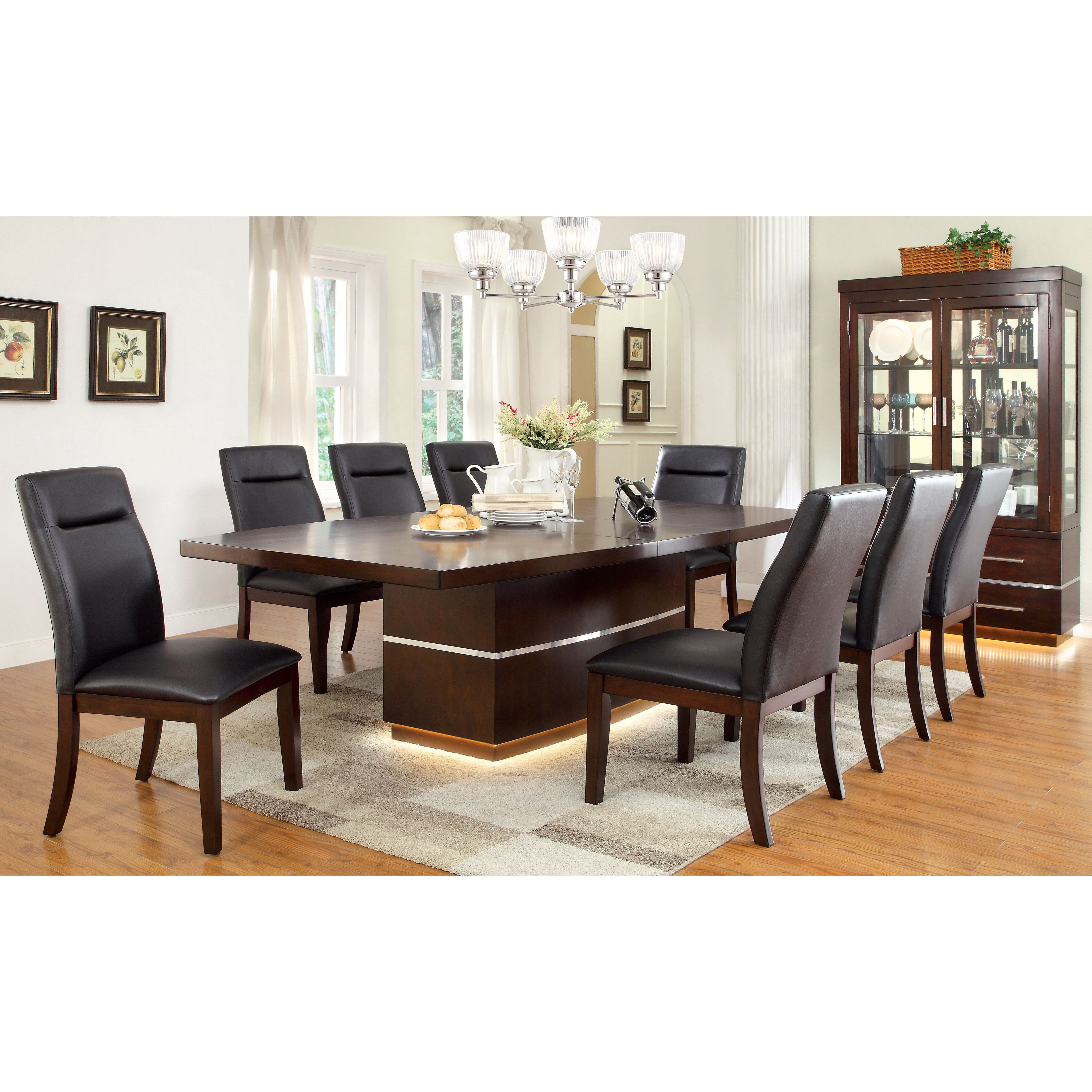 Hokku designs solaare extendable dining table wayfair for Hokku designs dining room furniture