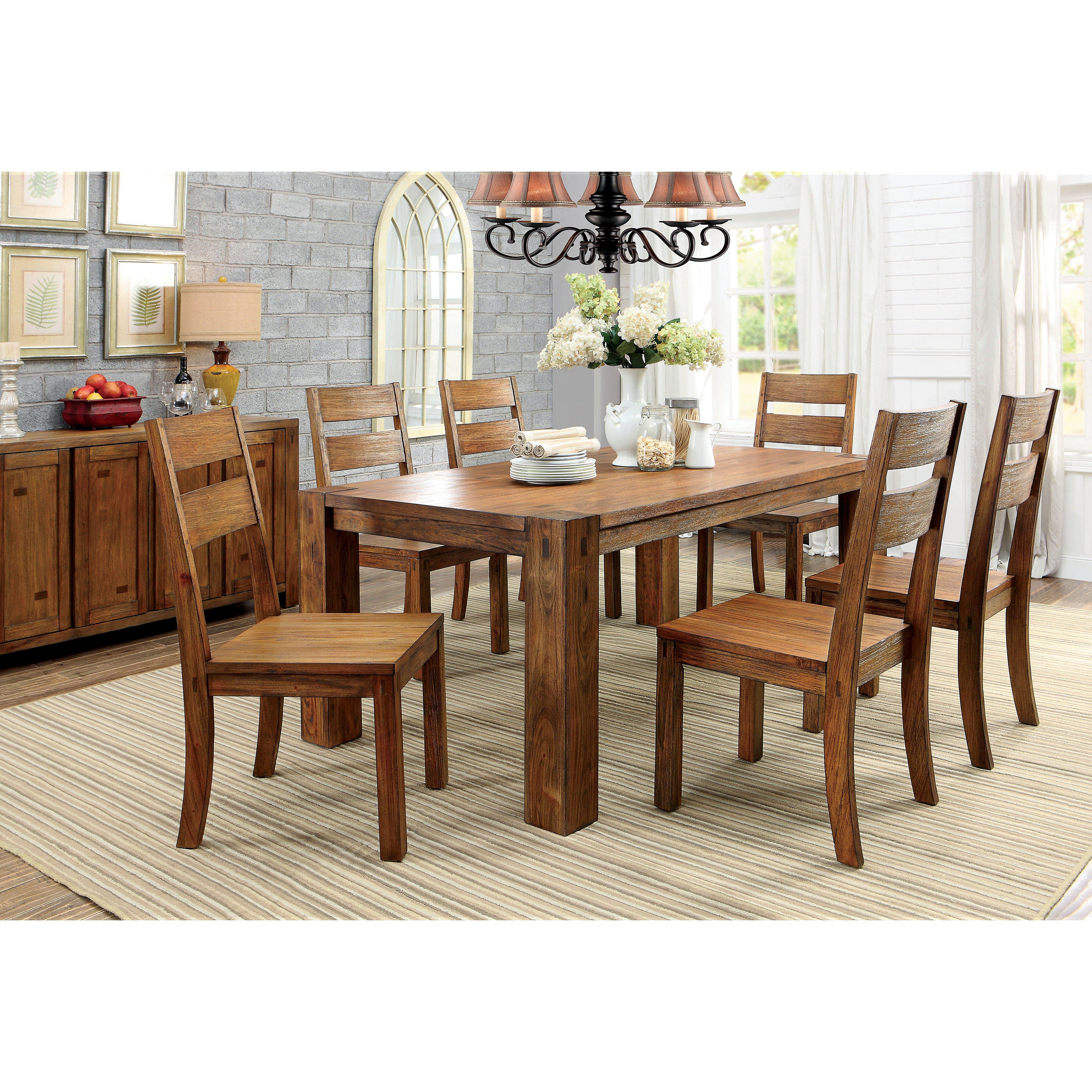 Hokku designs bethanne dining table wayfair for Hokku designs dining room furniture