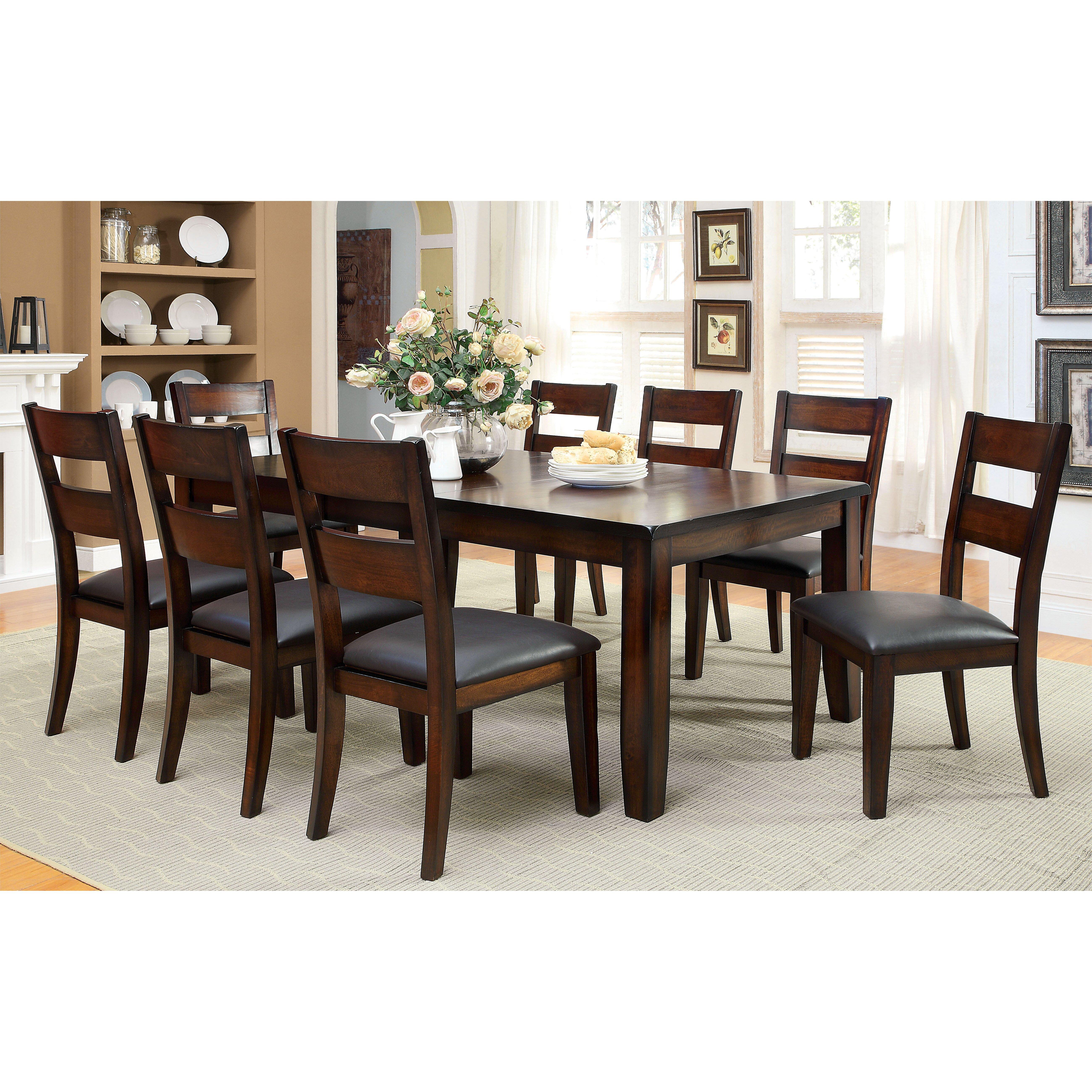 Hokku designs delayne 9 piece dining set reviews wayfair for Hokku designs dining room furniture