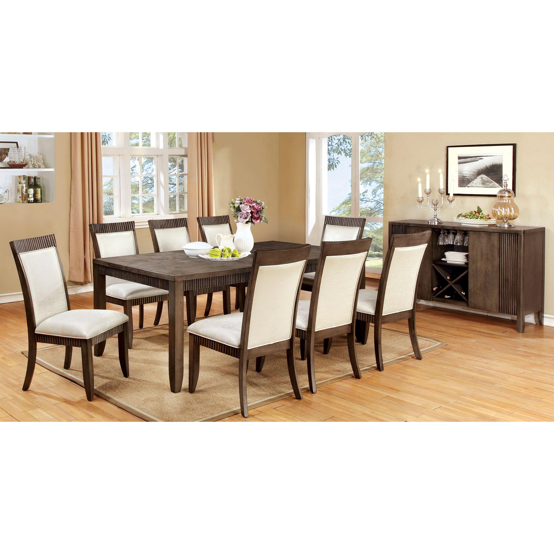 Hokku designs gayet 9 piece dining set wayfair for Hokku designs dining room furniture