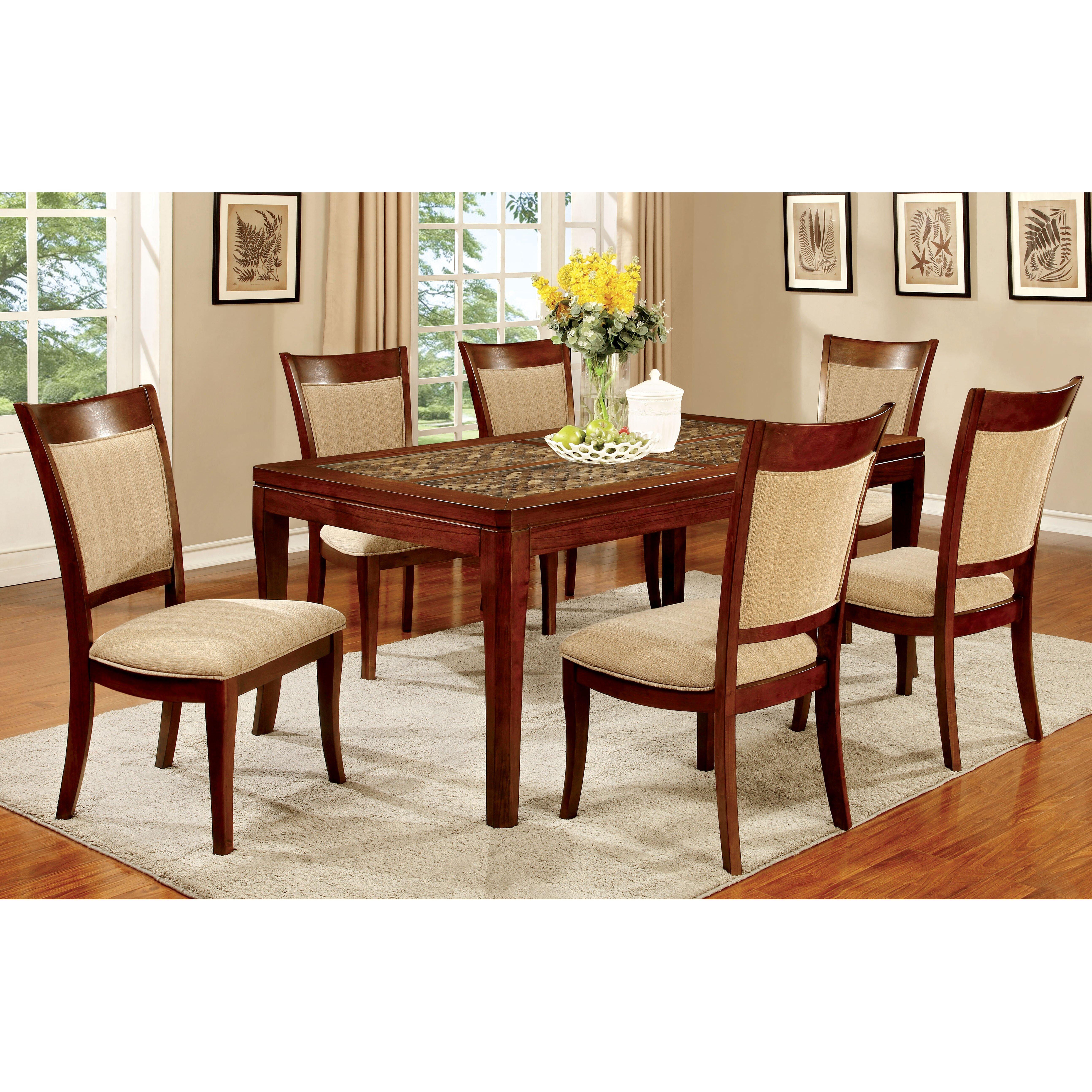 Hokku designs leto 7 piece dining set reviews wayfair for Hokku designs dining room furniture