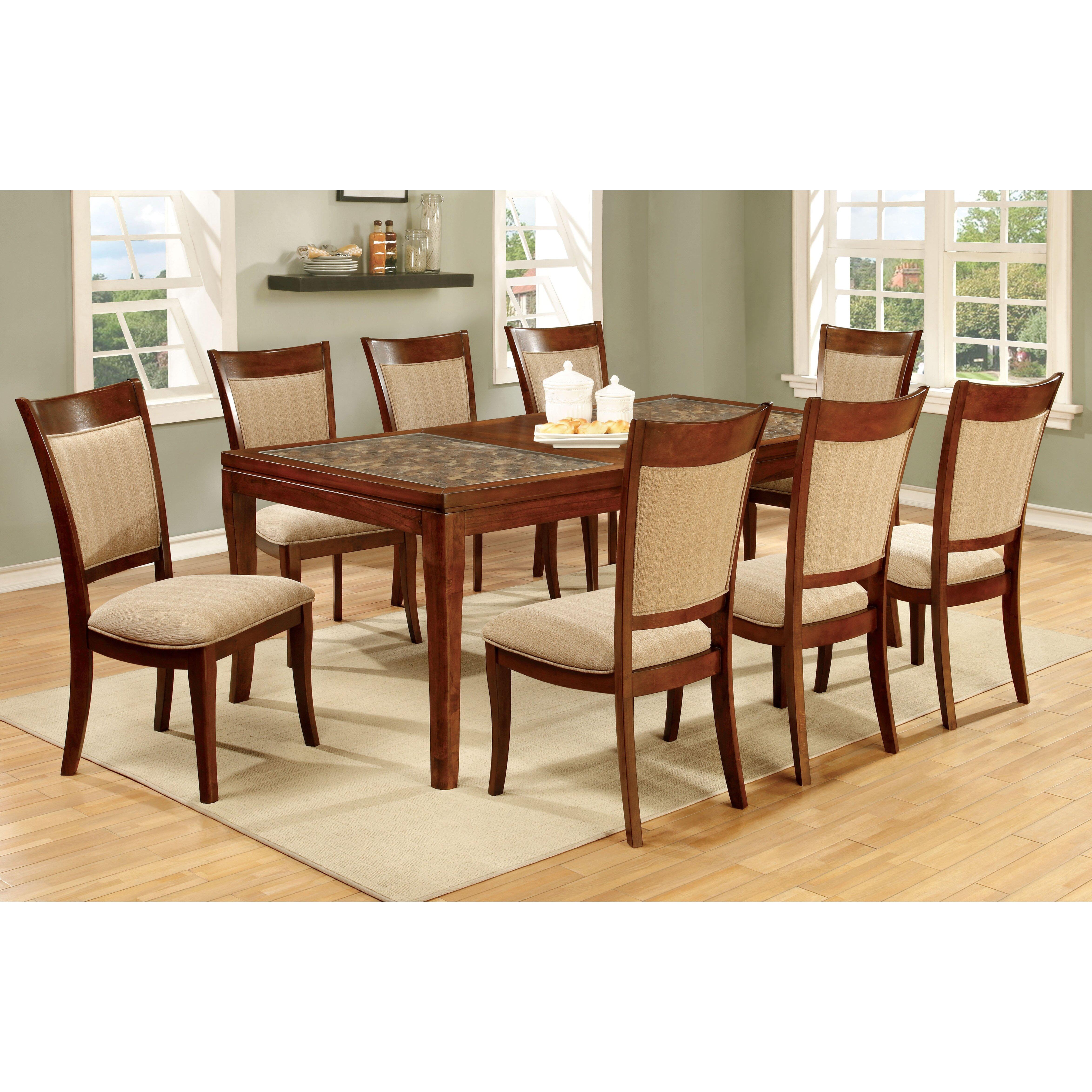 Hokku designs leto 9 piece dining set reviews wayfair for Hokku designs dining room furniture