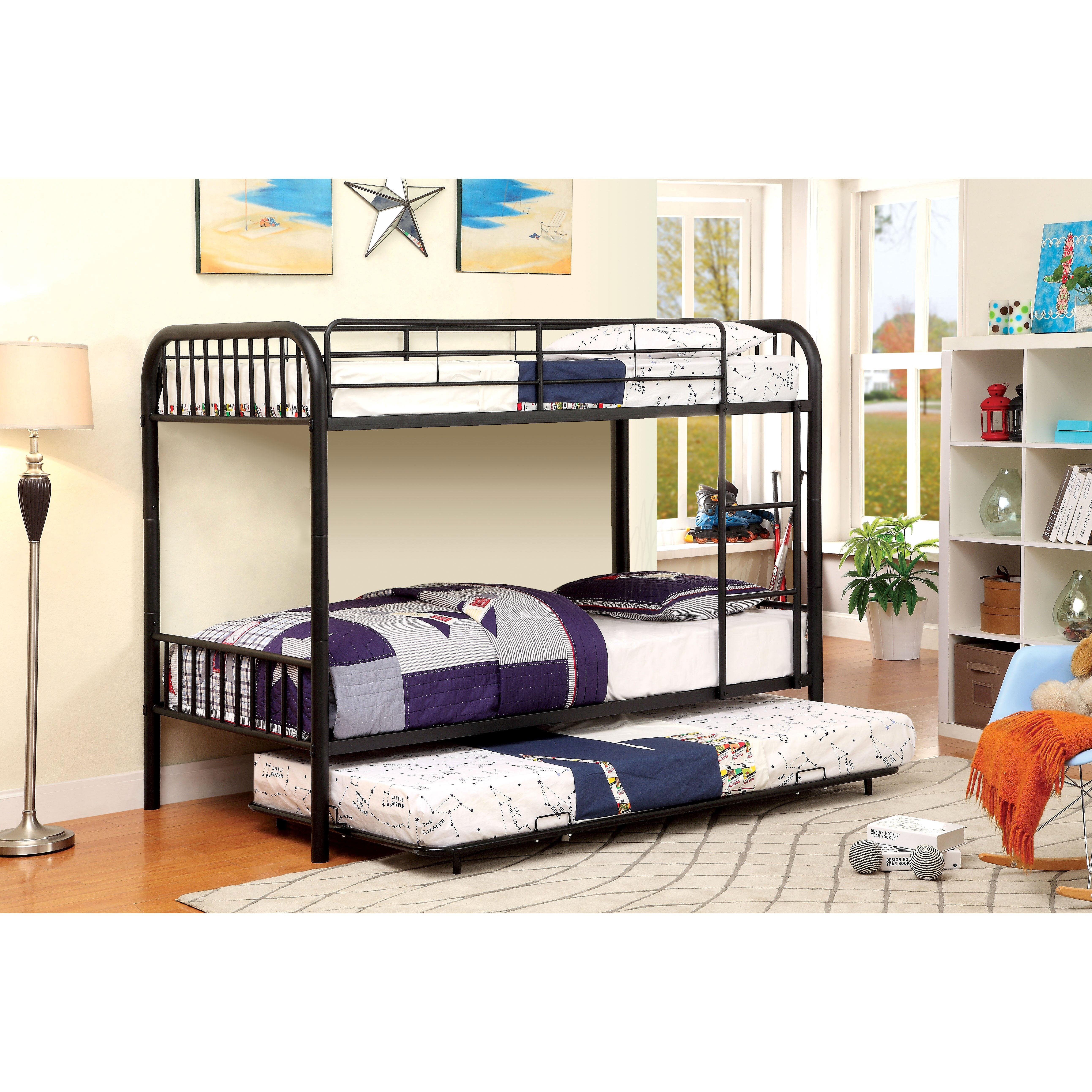 Hokku Designs Prism Twin Bunk Bed With Trundle Amp Reviews