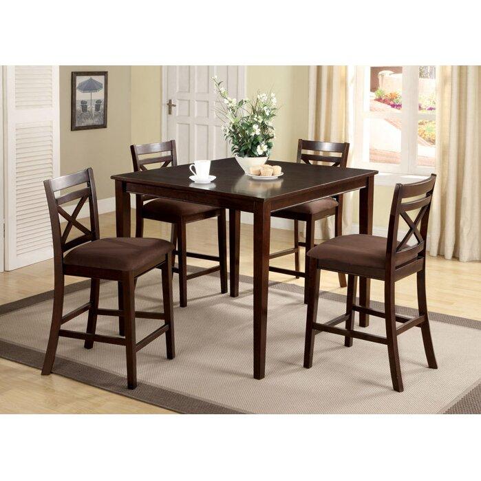 Hokku Designs Easton 5 Piece Counter Height Dining Set  : Easton2B52BPiece2BCounter2BHeight2BDining2BSet from www.wayfair.com size 699 x 699 jpeg 114kB