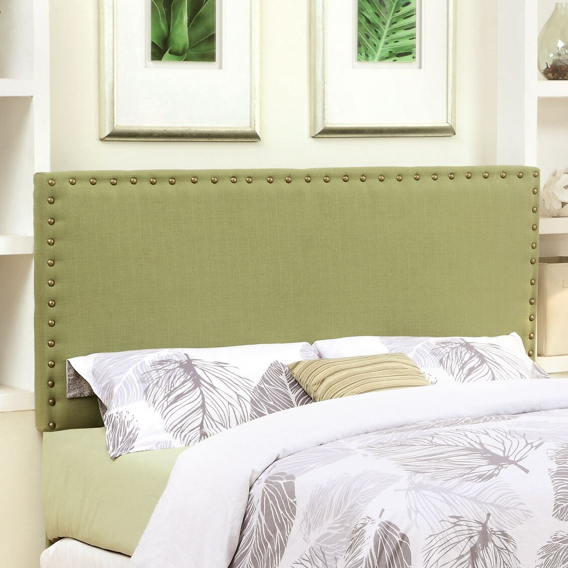 Hokku Designs Marina Upholstered Panel Headboard Reviews