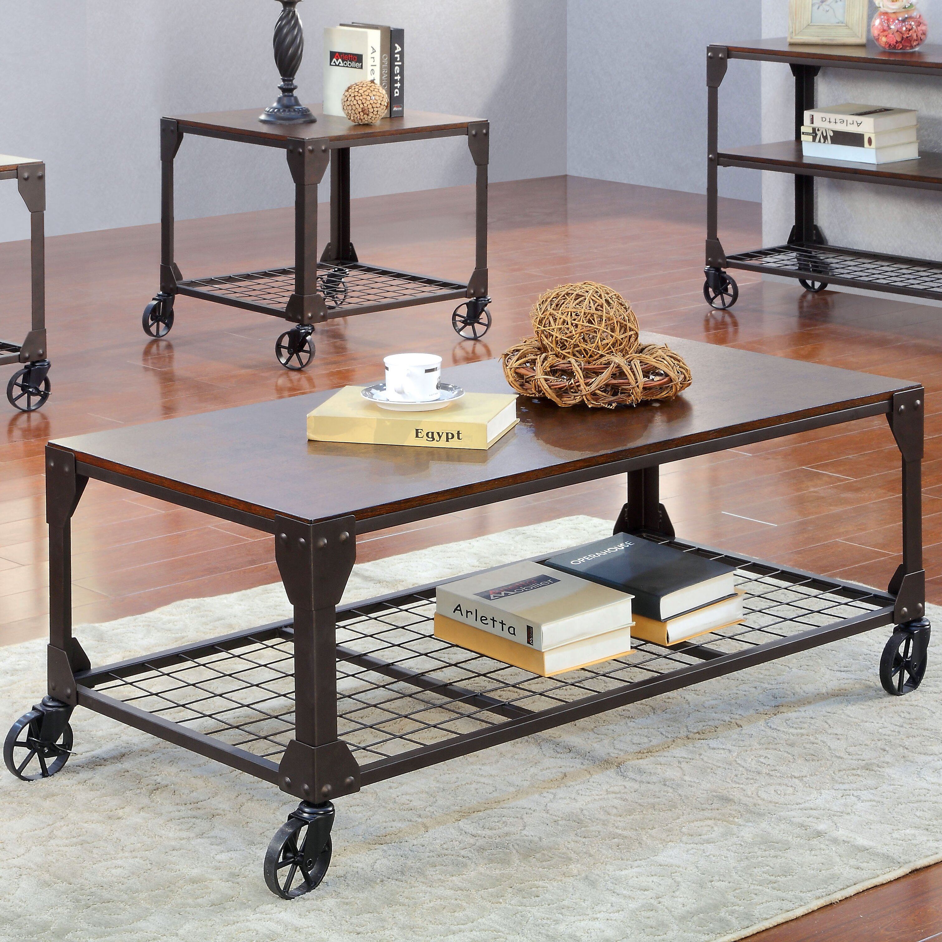 hokku designs starke coffee table reviews wayfair. Black Bedroom Furniture Sets. Home Design Ideas