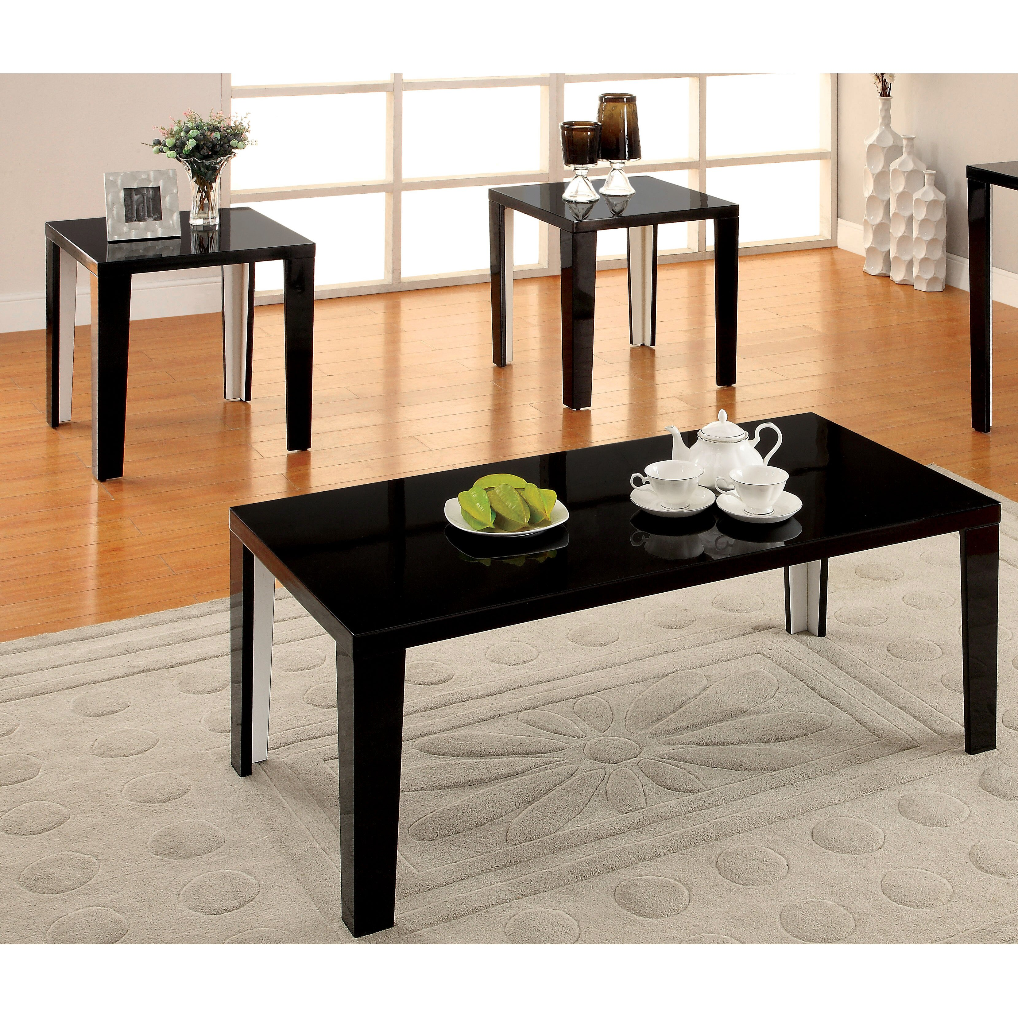 Hokku Designs Enichi 3 Piece Coffee Table Set & Reviews