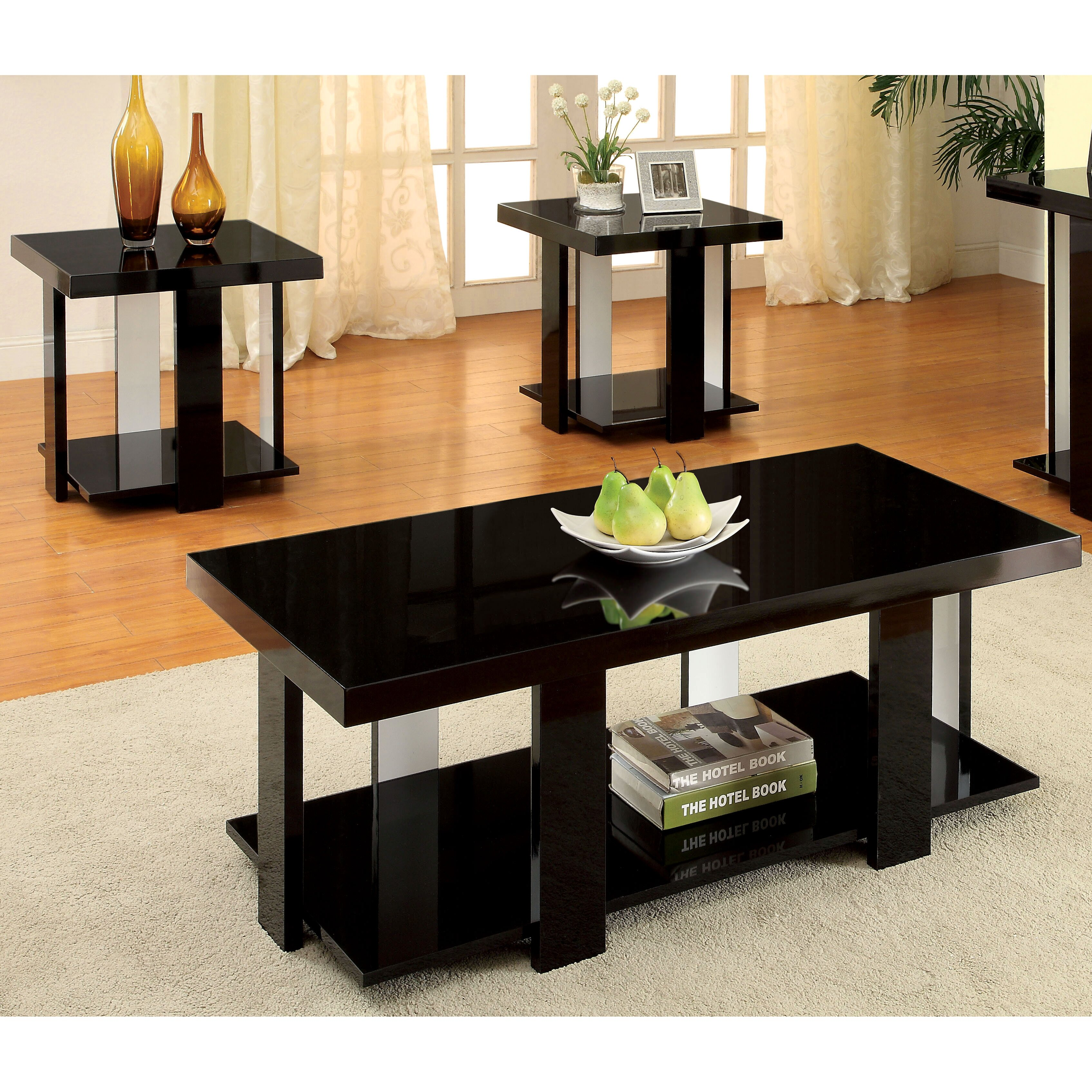 Hokku Coffee Table Sets: Hokku Designs Eran 3 Piece Coffee Table Set & Reviews