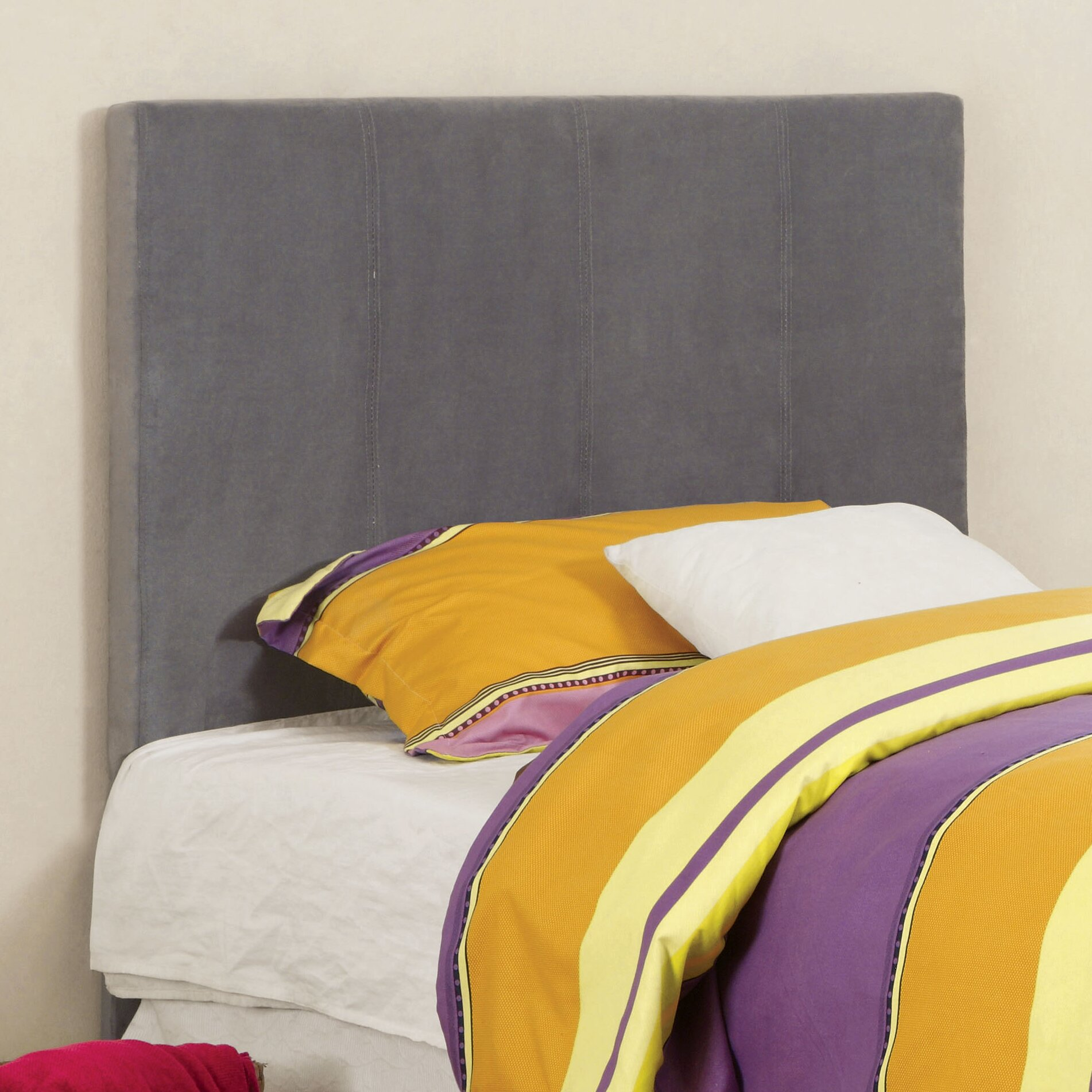 Hokku Designs Temara Upholstered Panel Headboard Reviews