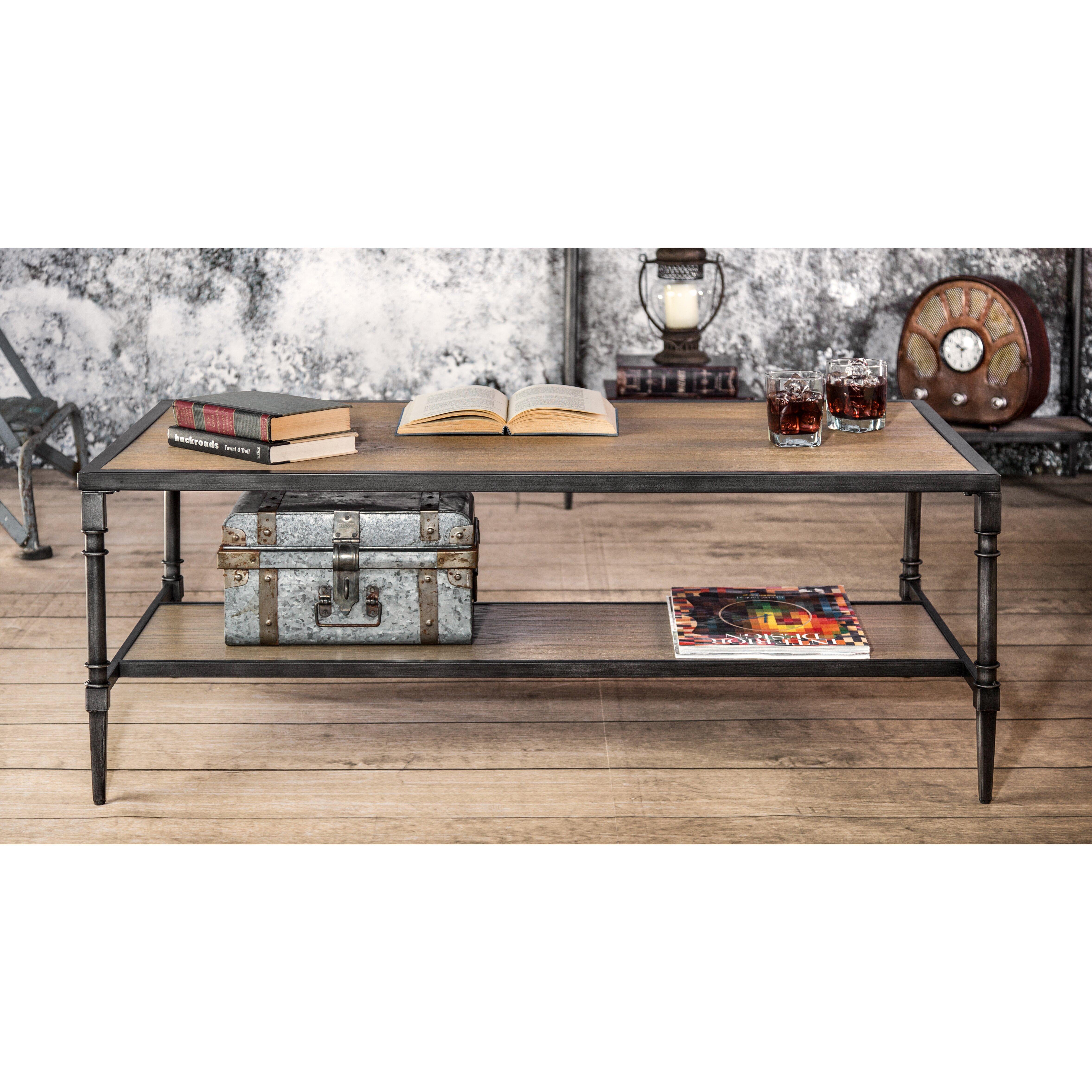 Hokku Designs Leons Coffee Table & Reviews