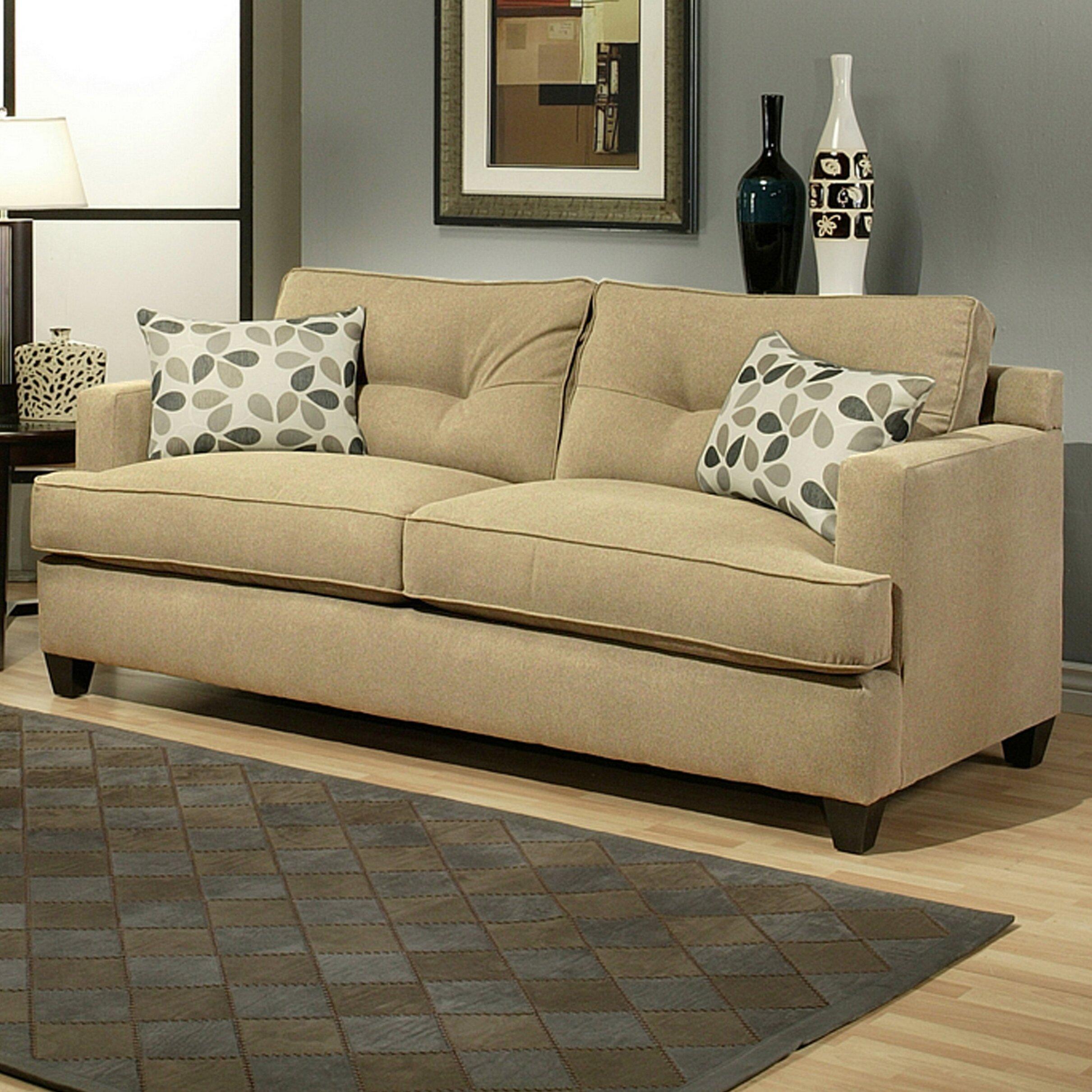 Hokku designs dawn sofa reviews wayfair for Hokku designs living room furniture