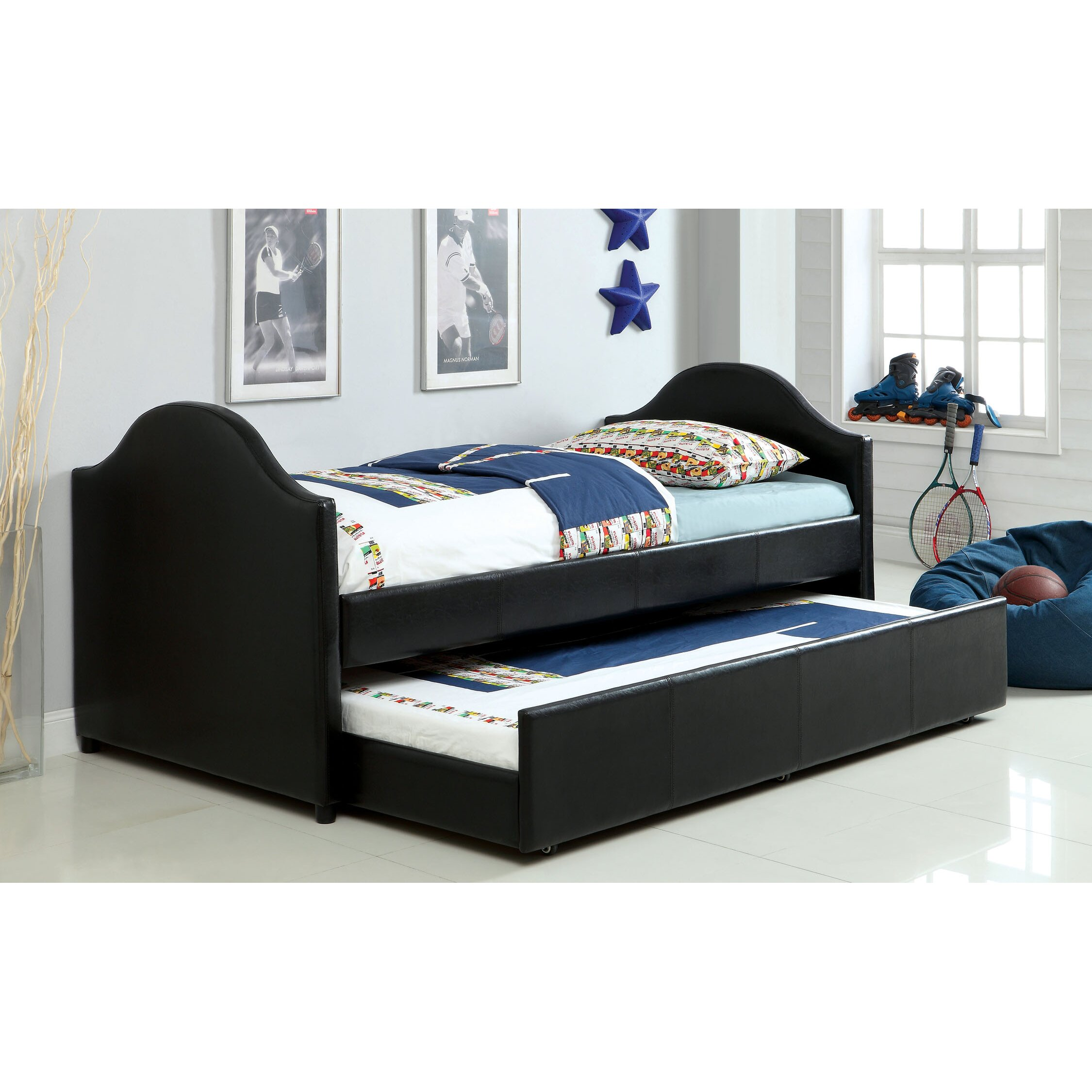 Hokku designs rhine twin bed with trundle reviews wayfair for Beds with trundle