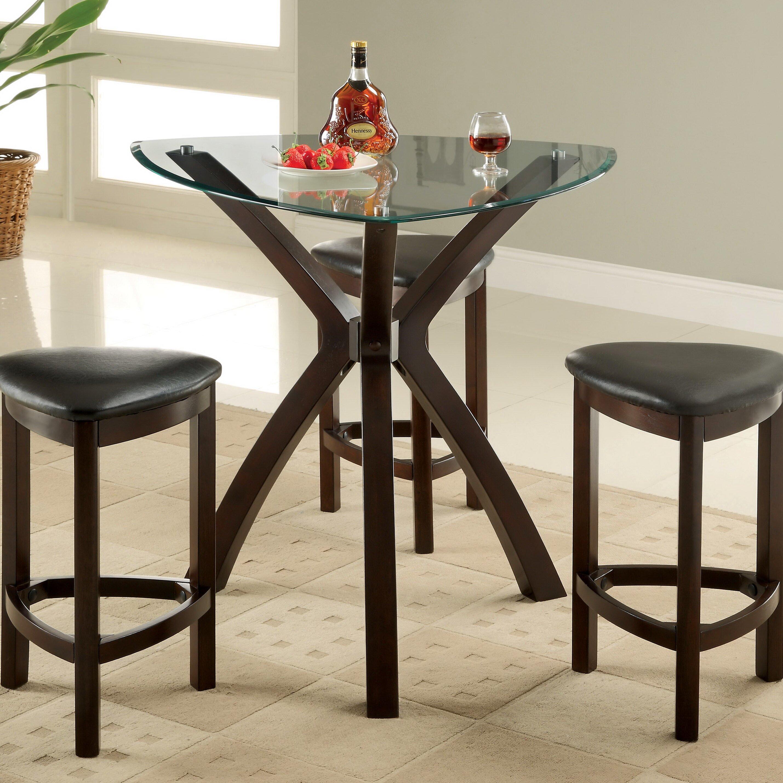 Hokku designs 4 piece counter height dining set reviews for Hokku designs dining room furniture